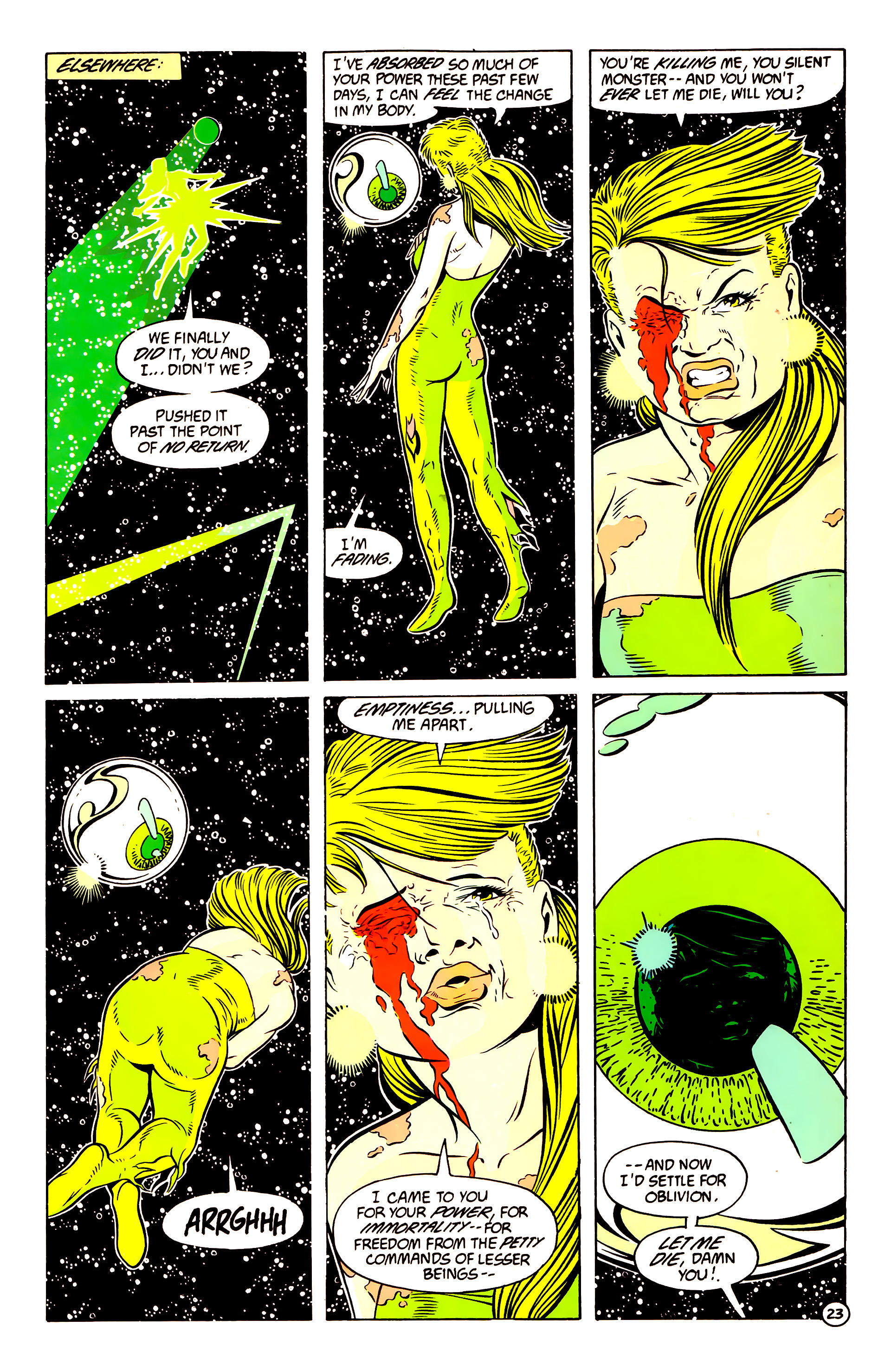 Legion of Super-Heroes (1984) 58 Page 23