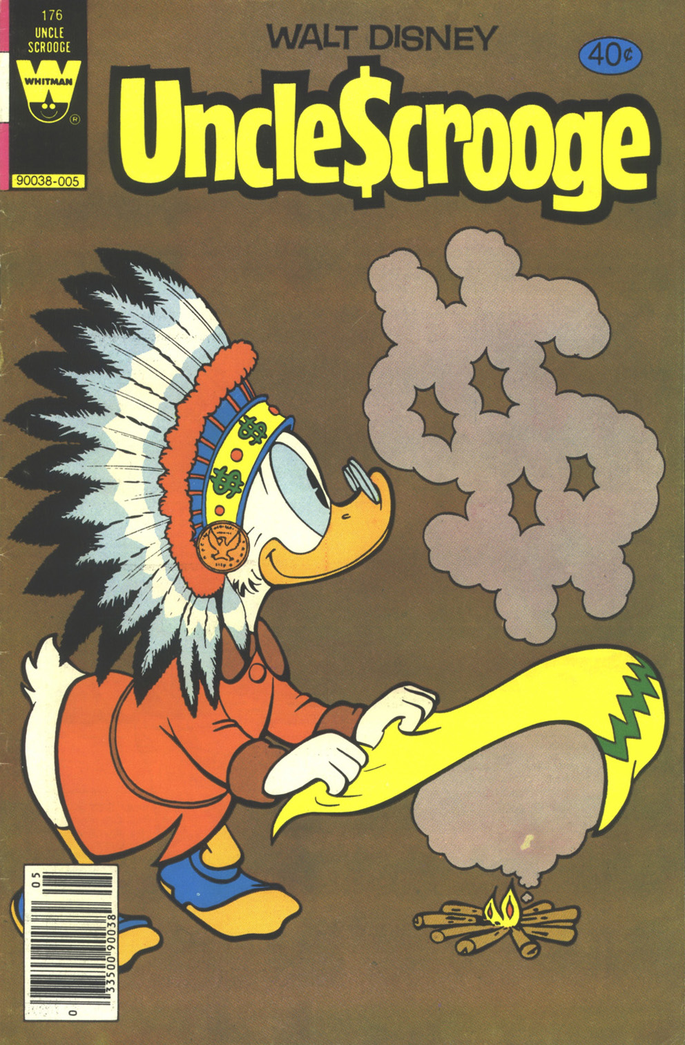 Read online Uncle Scrooge (1953) comic -  Issue #176 - 1