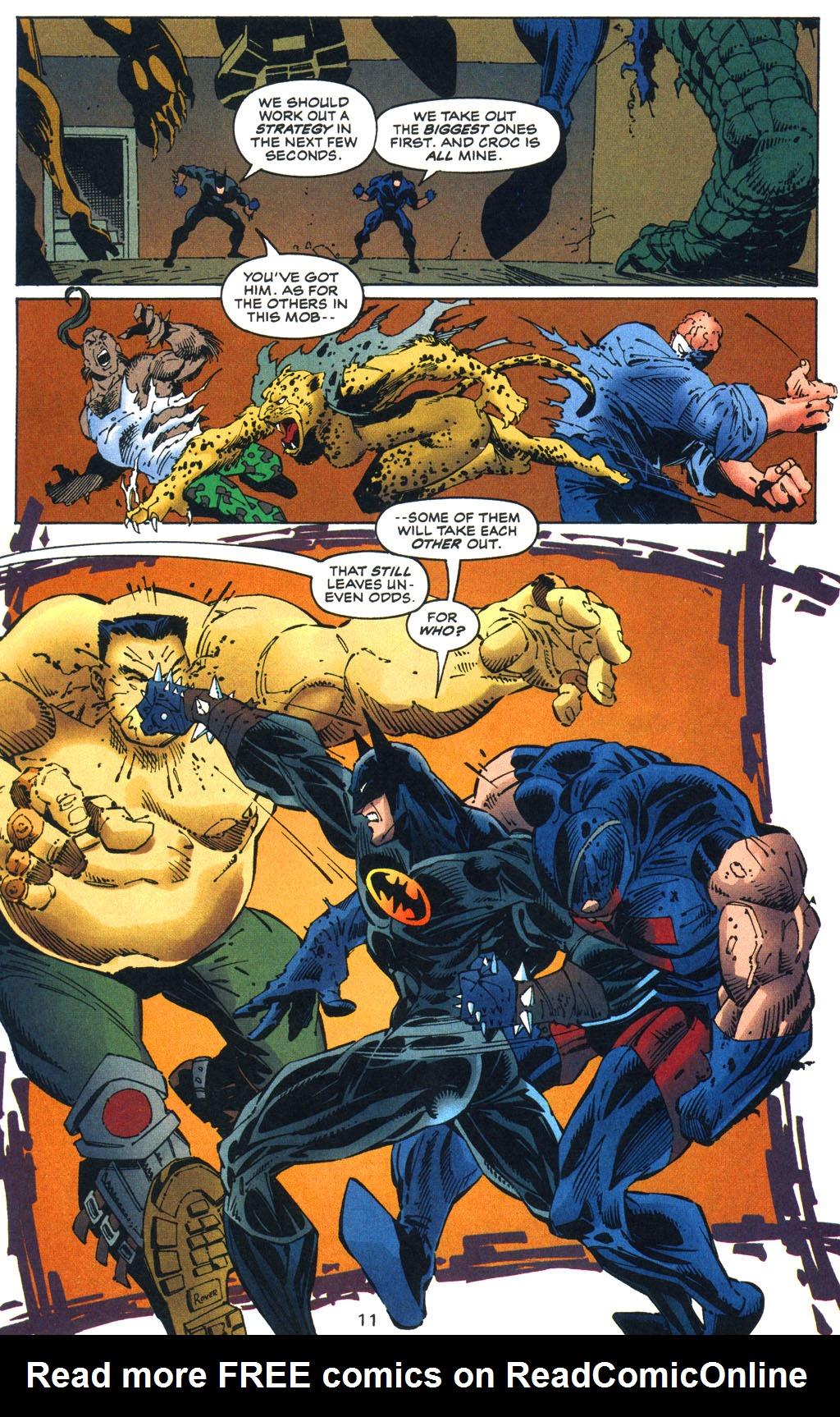 Read online Batman/Wildcat comic -  Issue #3 - 11