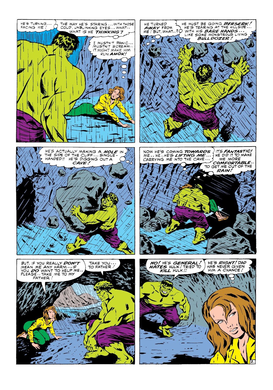 Read online Marvel Masterworks: The Incredible Hulk comic -  Issue # TPB 3 (Part 1) - 42