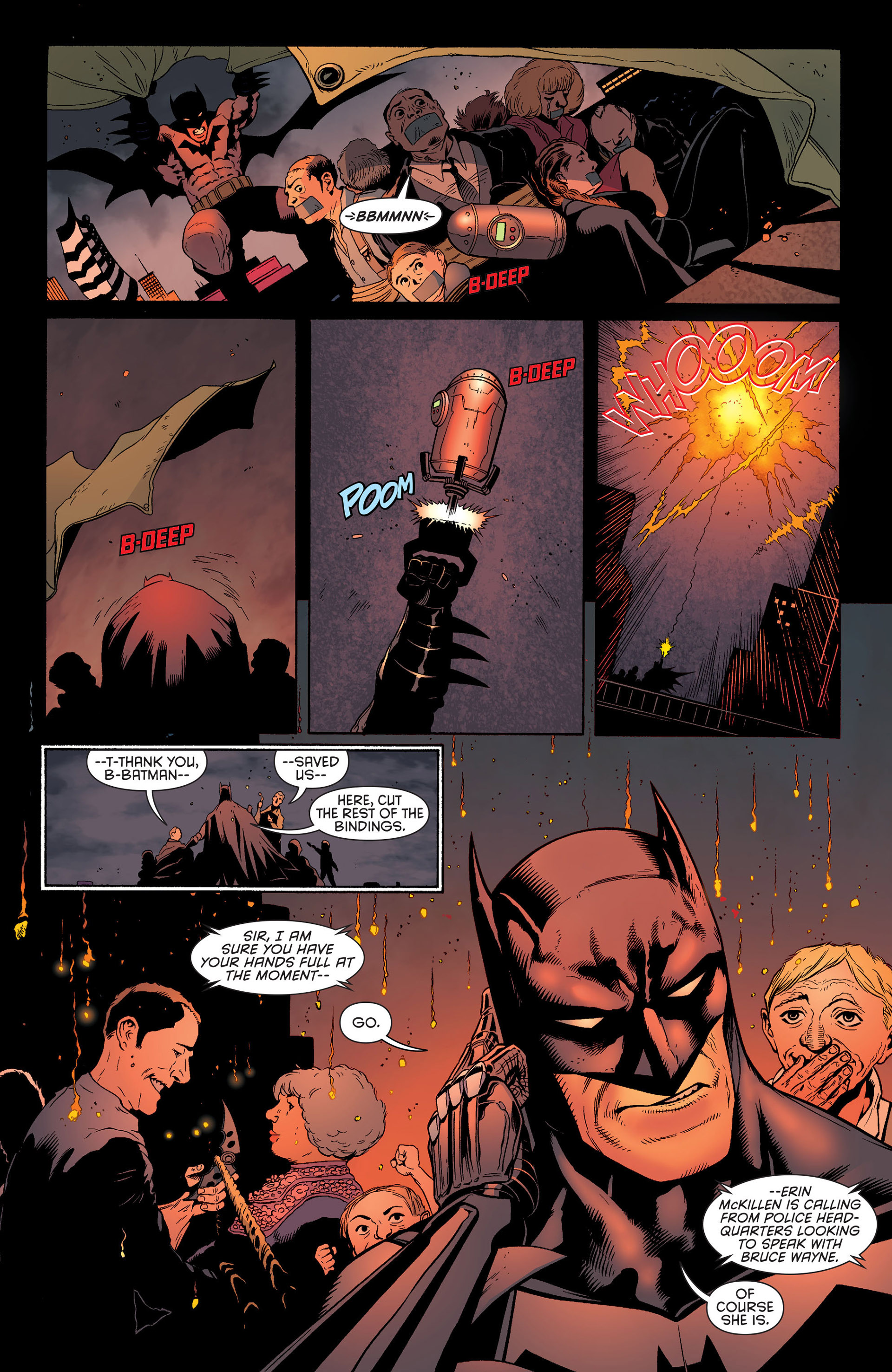 Read online Batman and Robin (2011) comic -  Issue #25 - Batman and Two-Face - 6