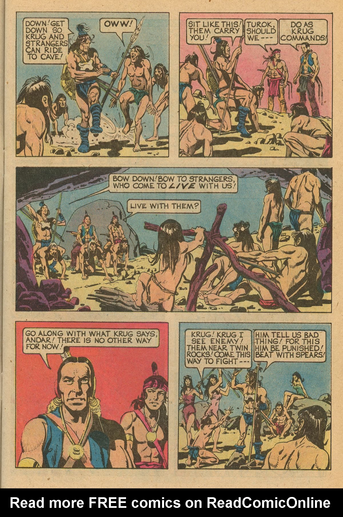 Read online Turok, Son of Stone comic -  Issue #115 - 9