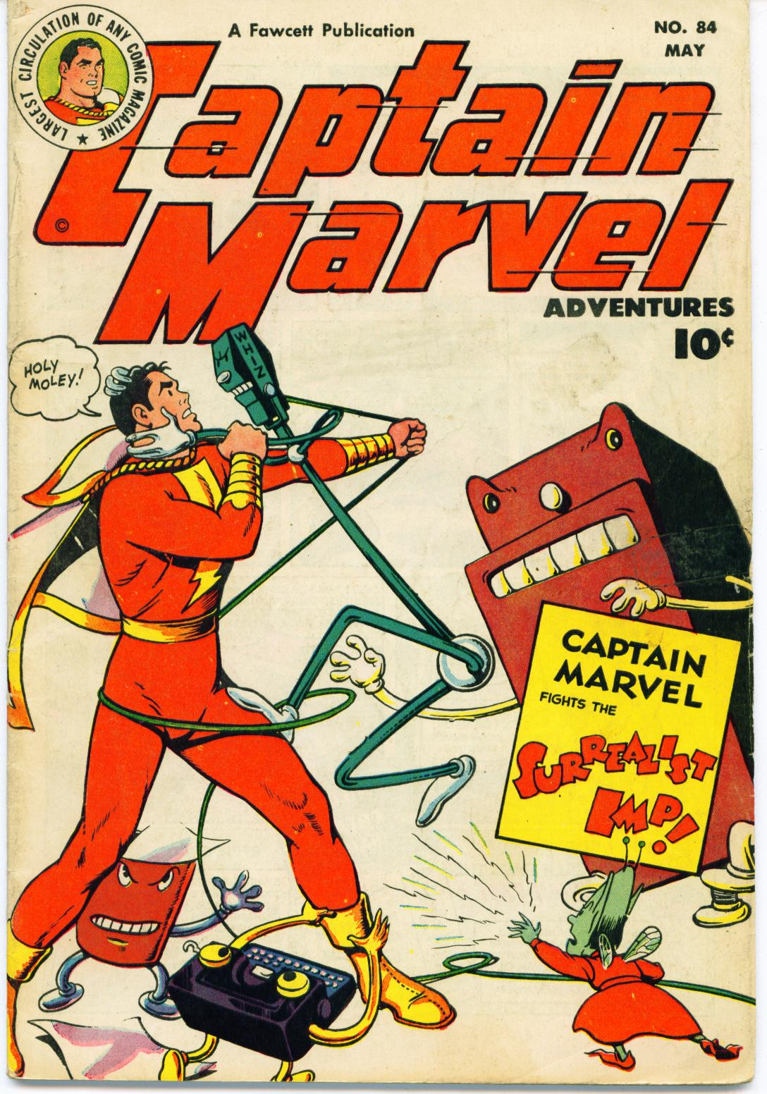 Captain Marvel Adventures 84 Page 1
