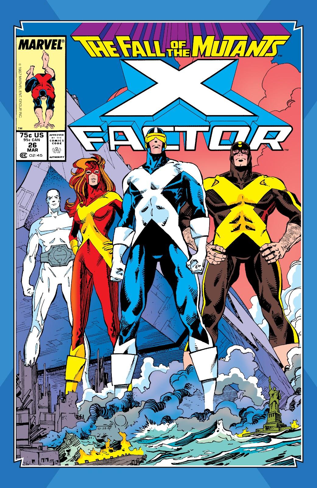 Read online X-Men Milestones: Fall of the Mutants comic -  Issue # TPB (Part 3) - 45