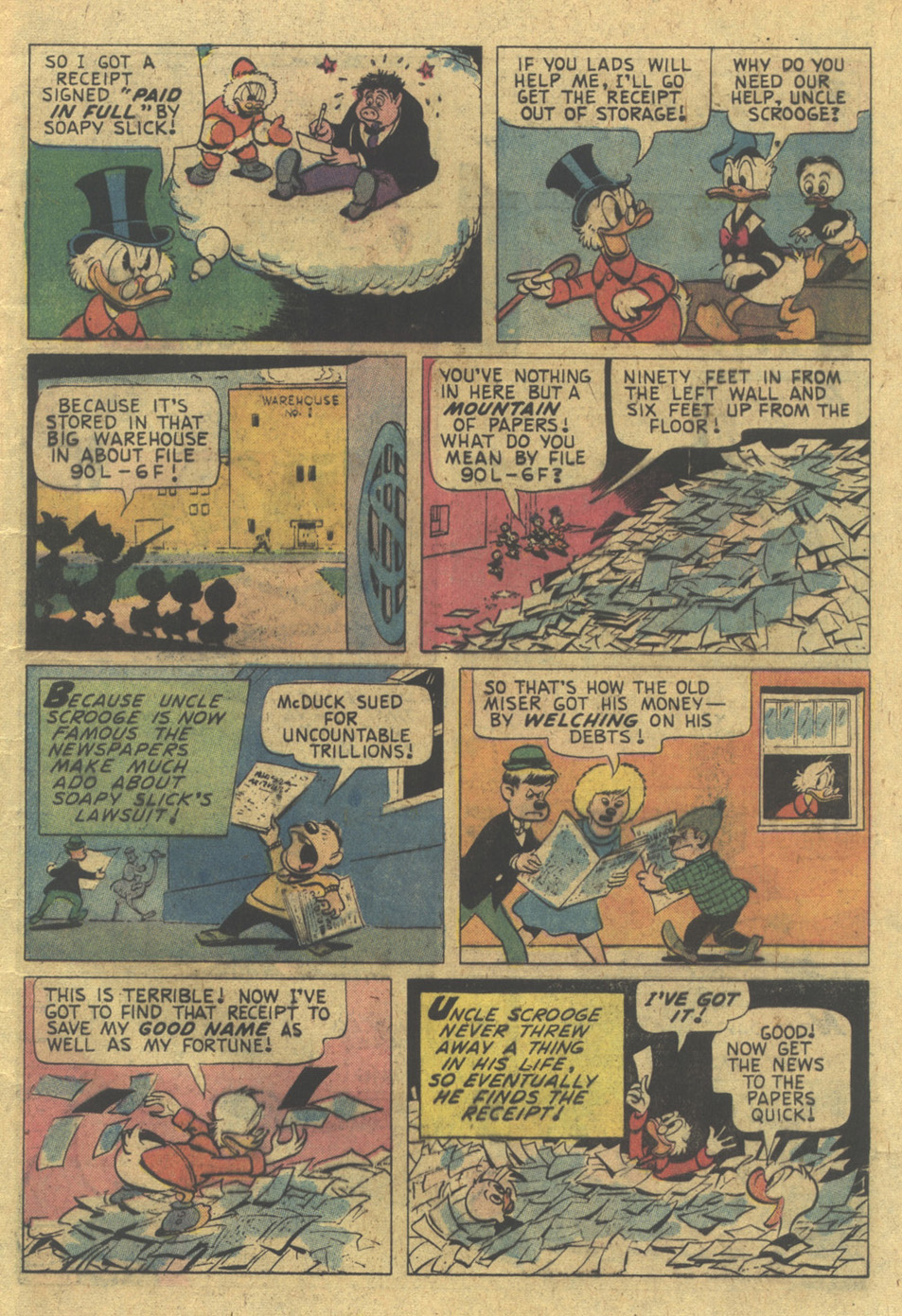 Read online Uncle Scrooge (1953) comic -  Issue #124 - 9