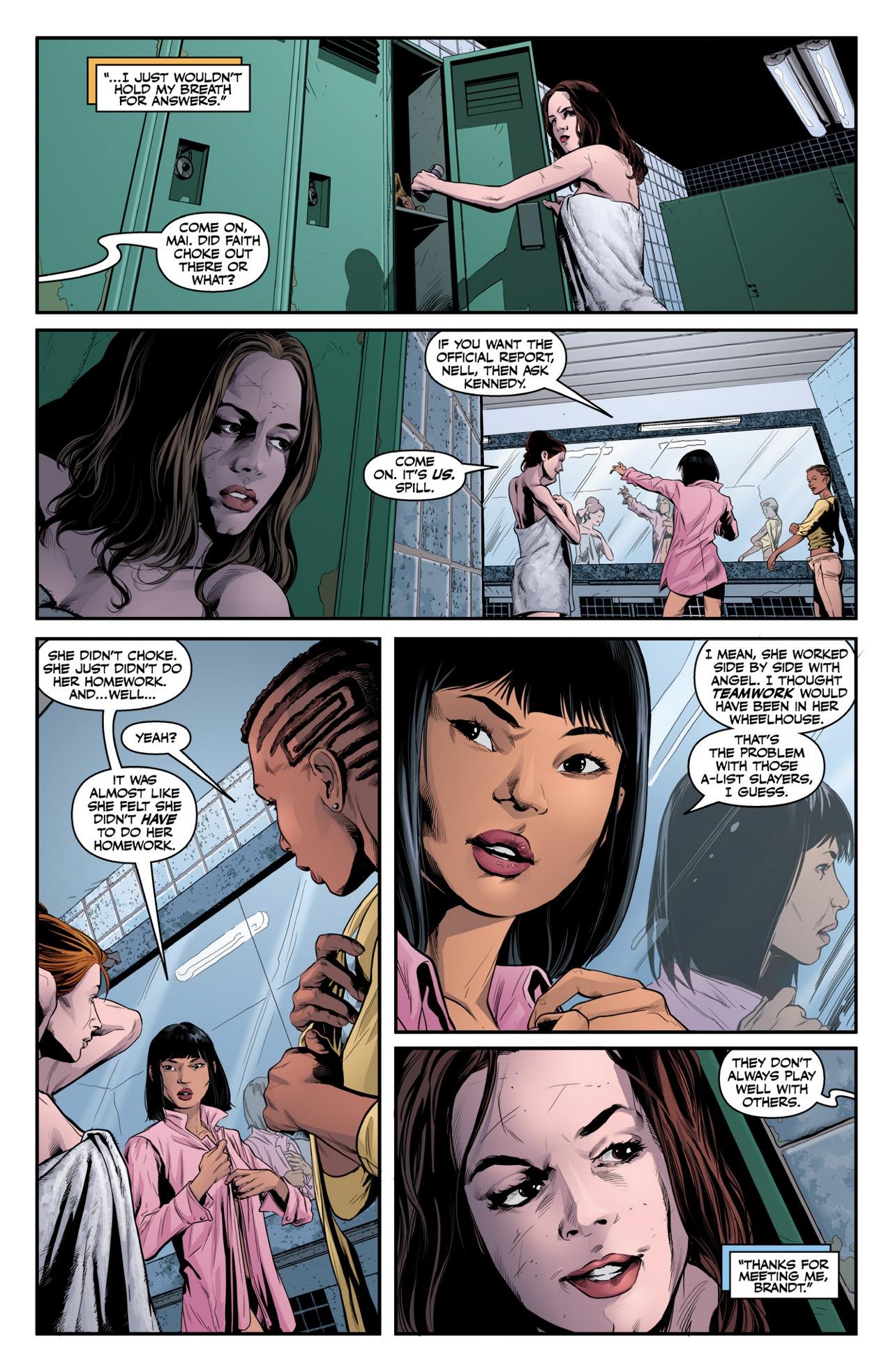Read online Angel & Faith Season 10 comic -  Issue #3 - 20