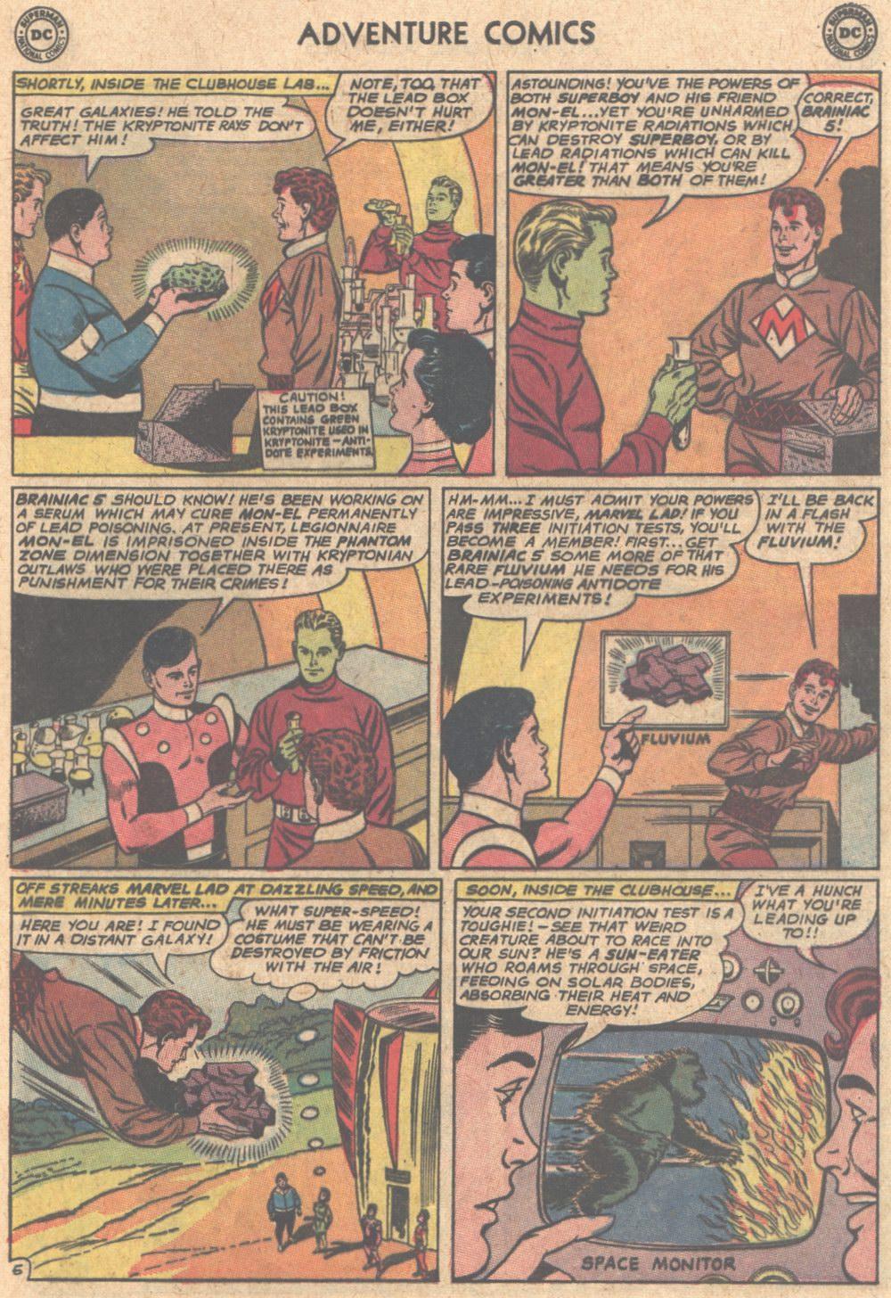 Read online Adventure Comics (1938) comic -  Issue #305 - 21