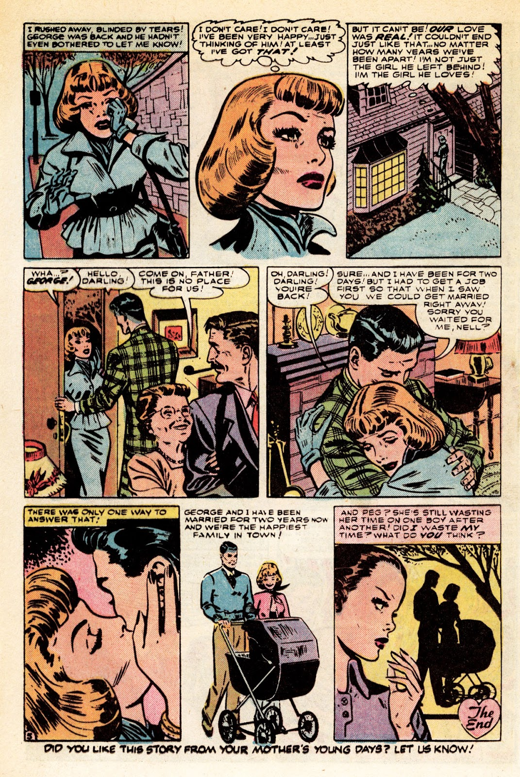 Love Romances (1949) issue 34 - Page 12