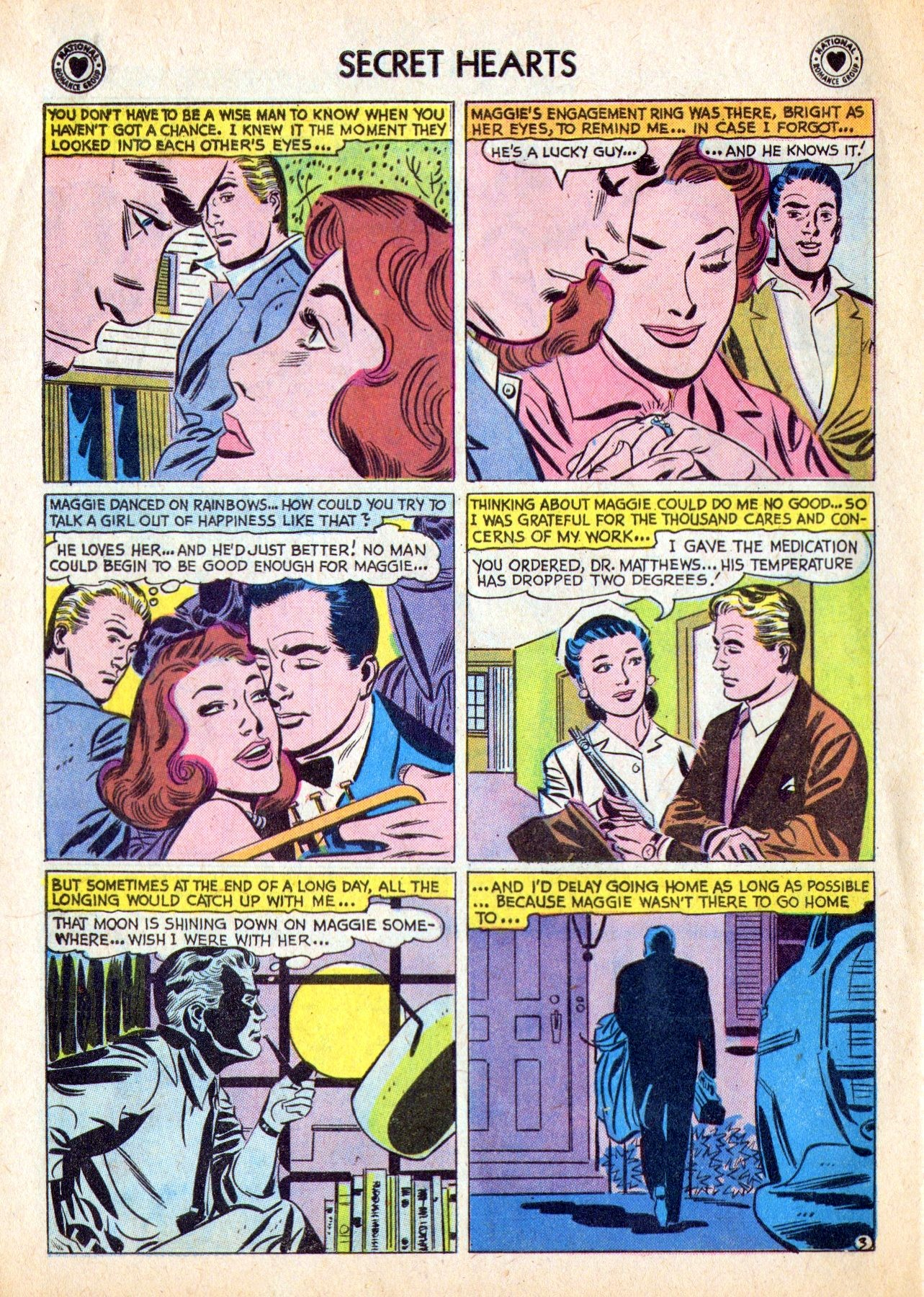Read online Secret Hearts comic -  Issue #53 - 28