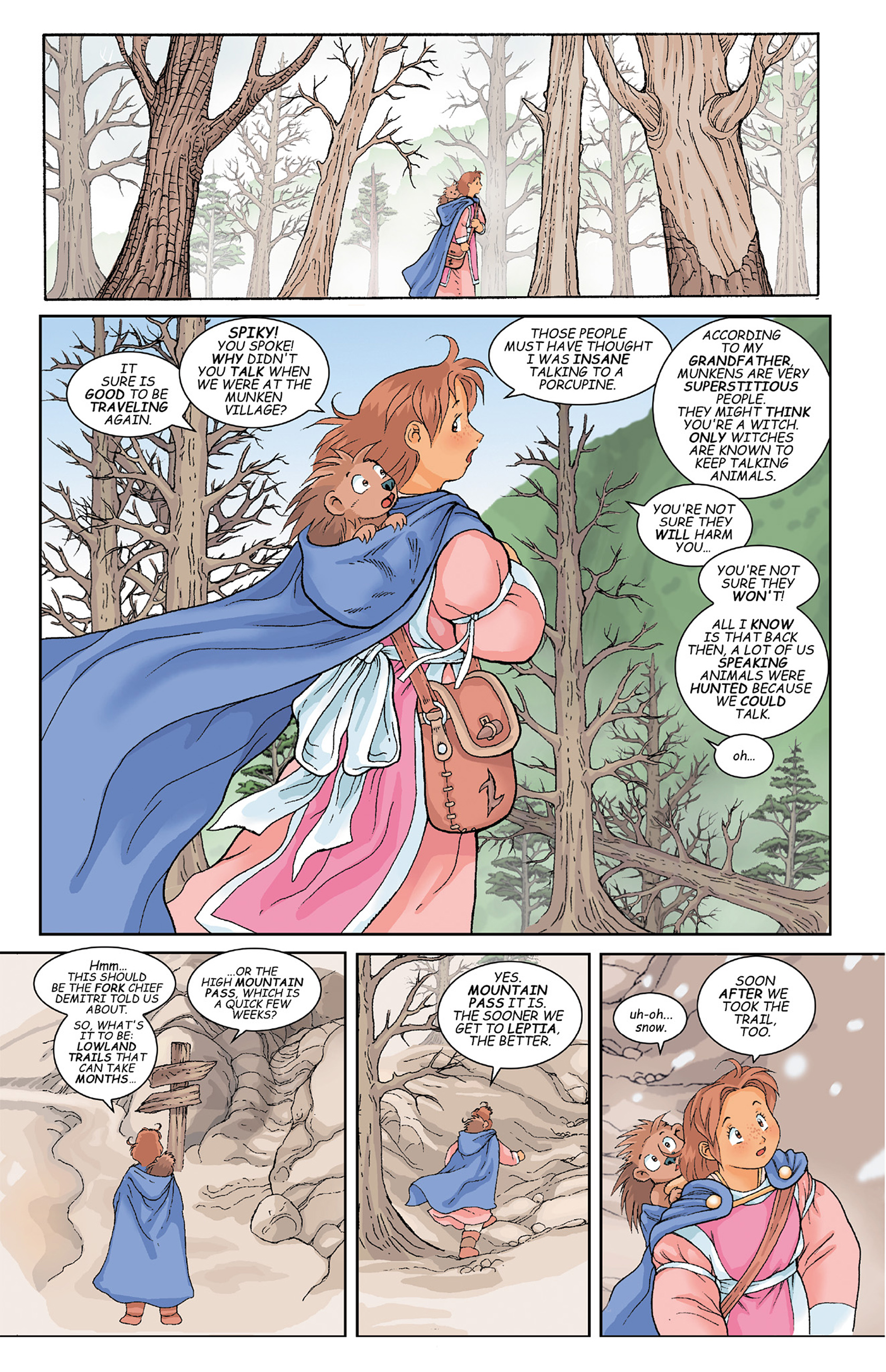 Read online Courageous Princess comic -  Issue # TPB 1 - 137