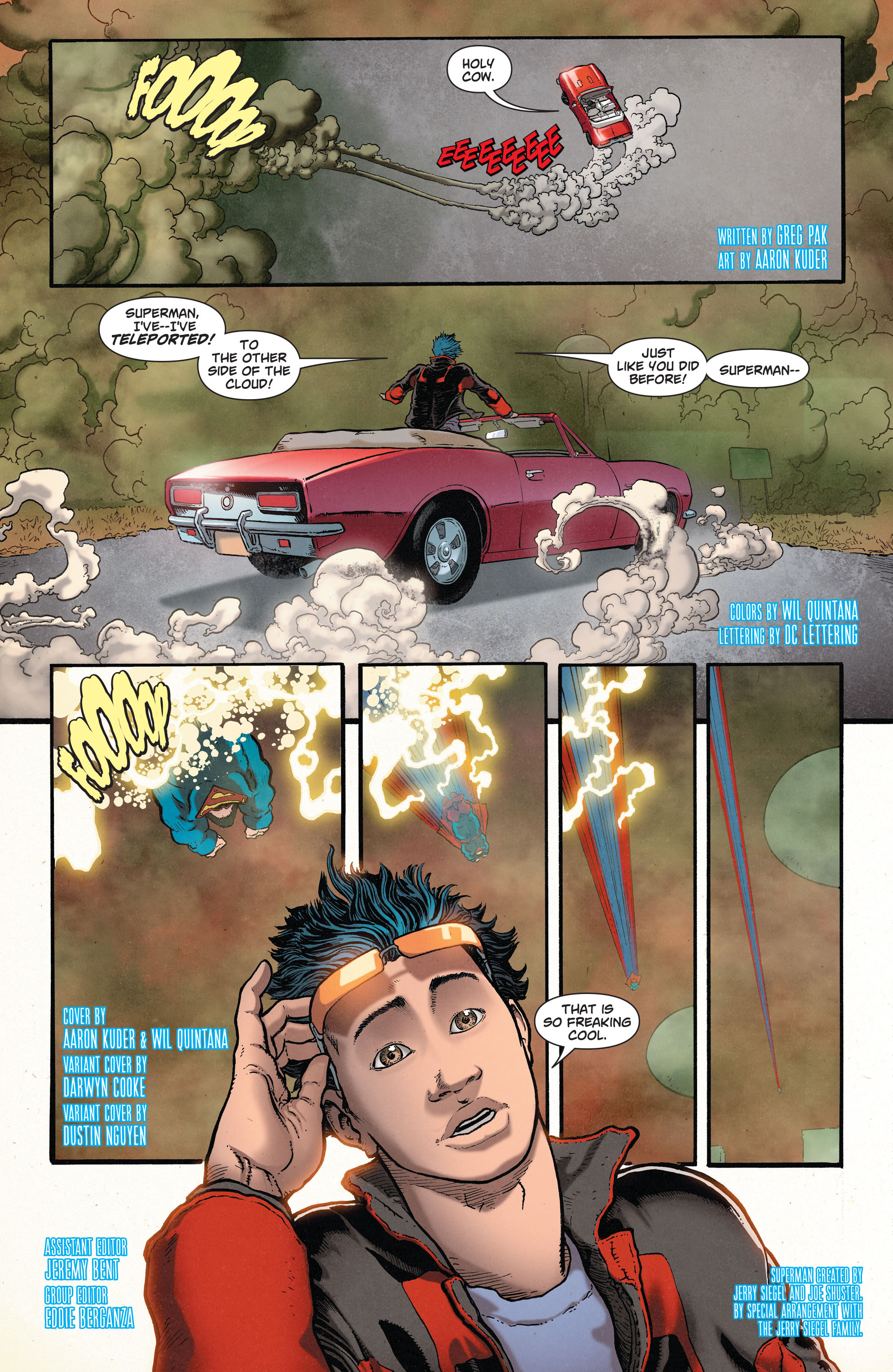 Read online Action Comics (2011) comic -  Issue #37 - 3