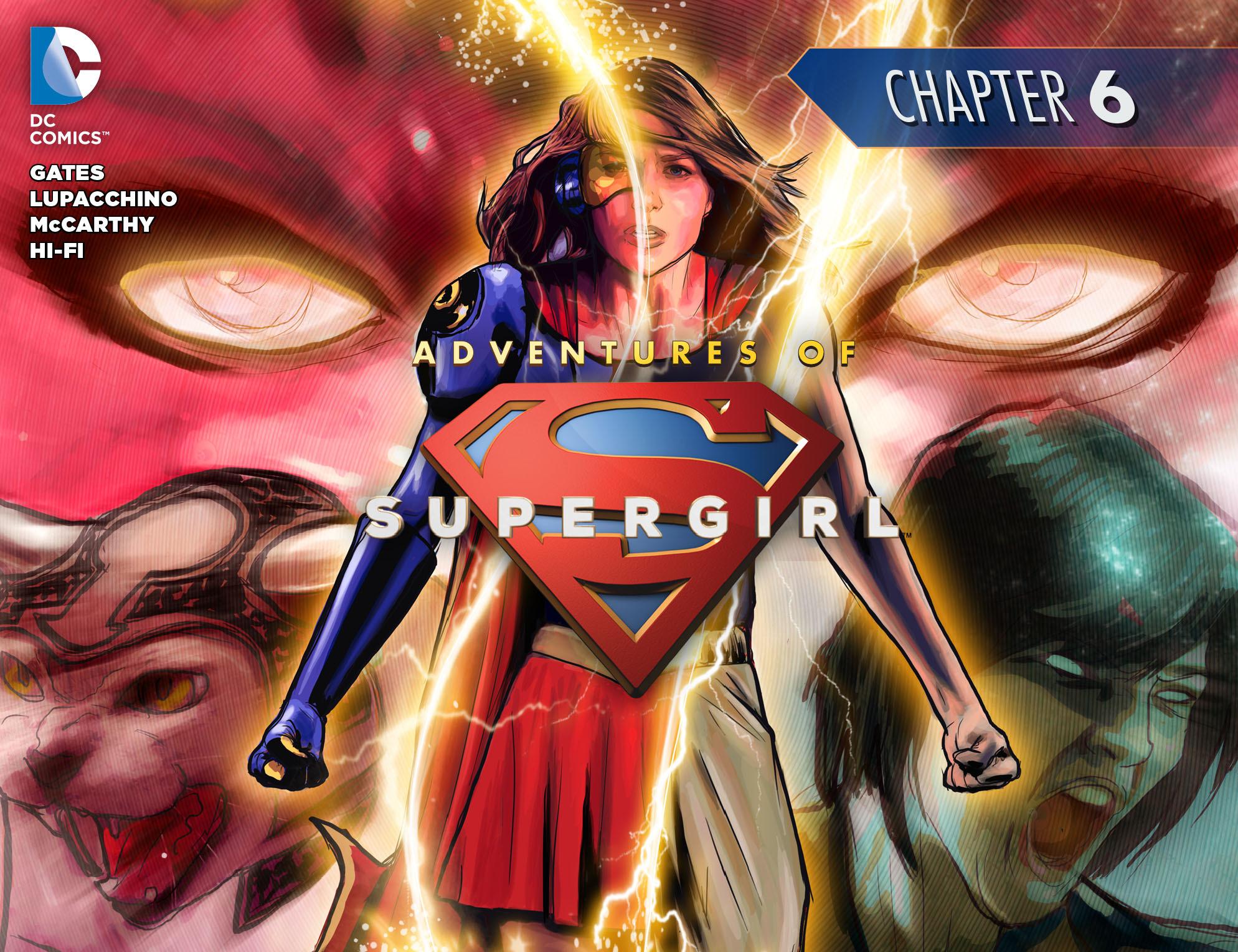 Read online Adventures of Supergirl comic -  Issue #6 - 1