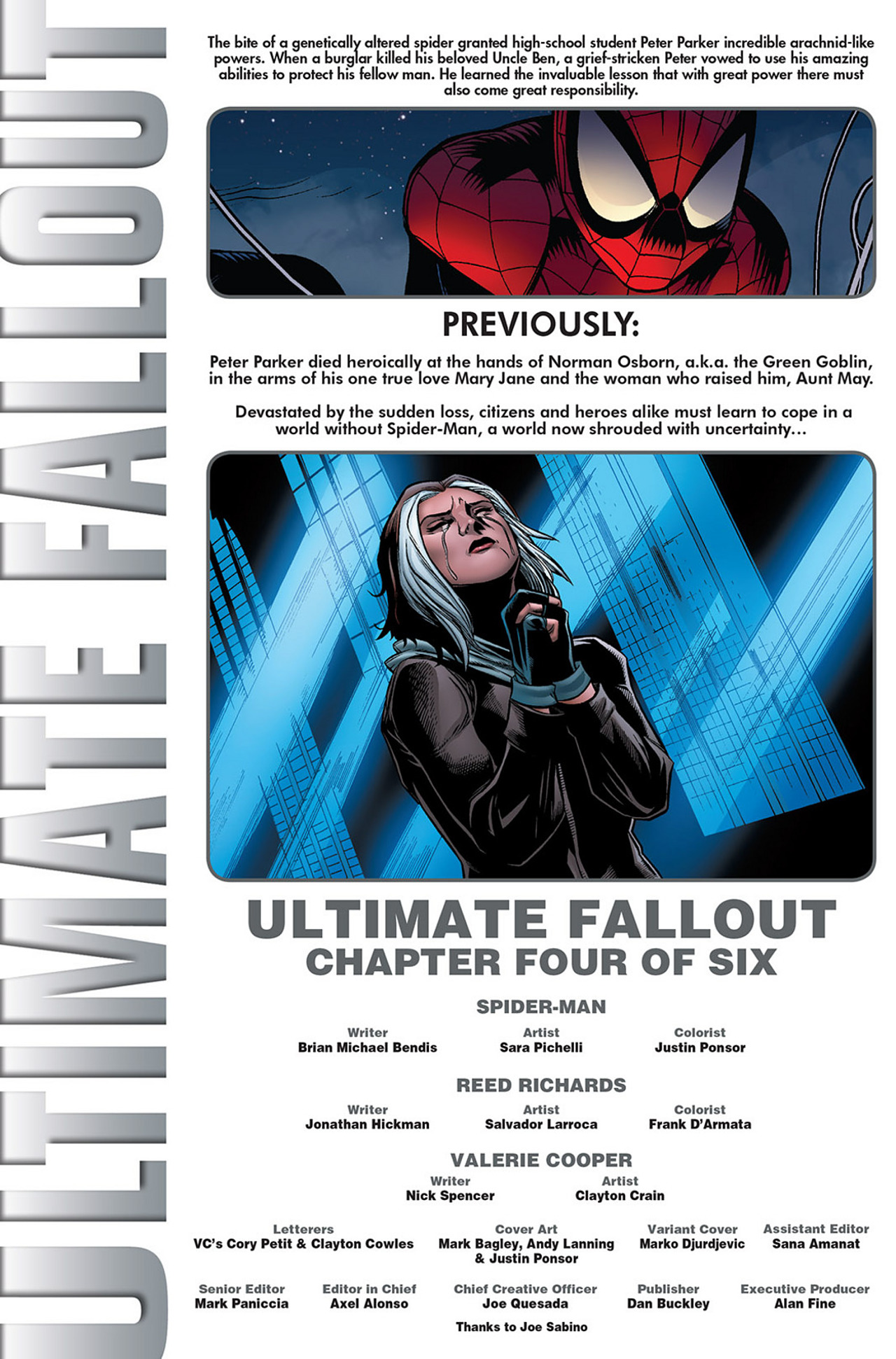 Read online Ultimate Fallout comic -  Issue #4 - 2
