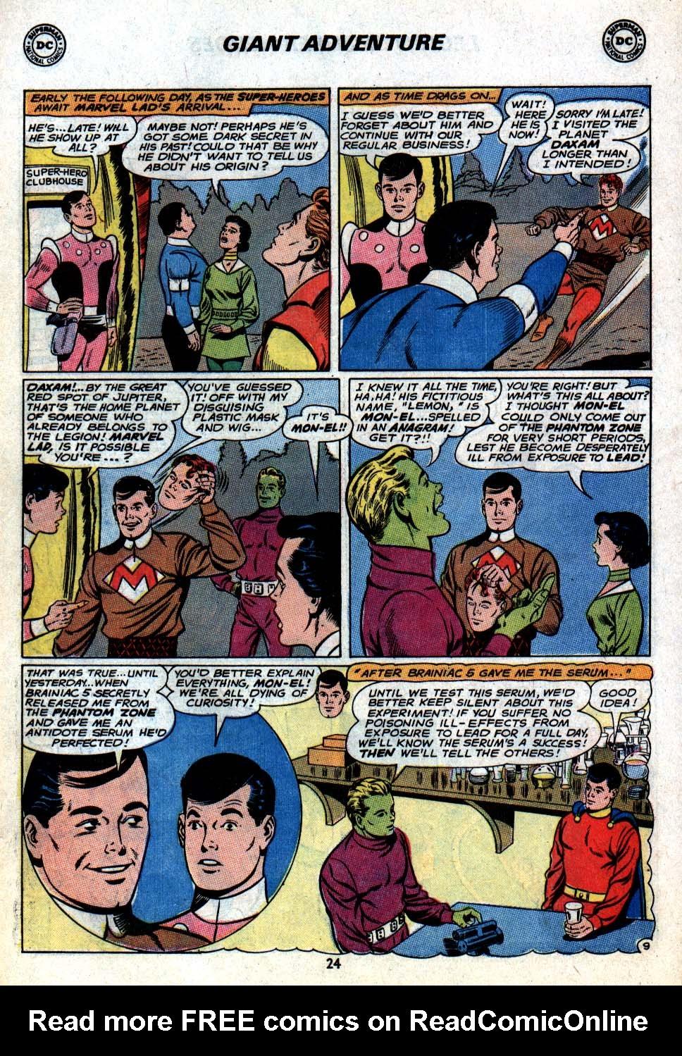 Read online Adventure Comics (1938) comic -  Issue #403 - 26
