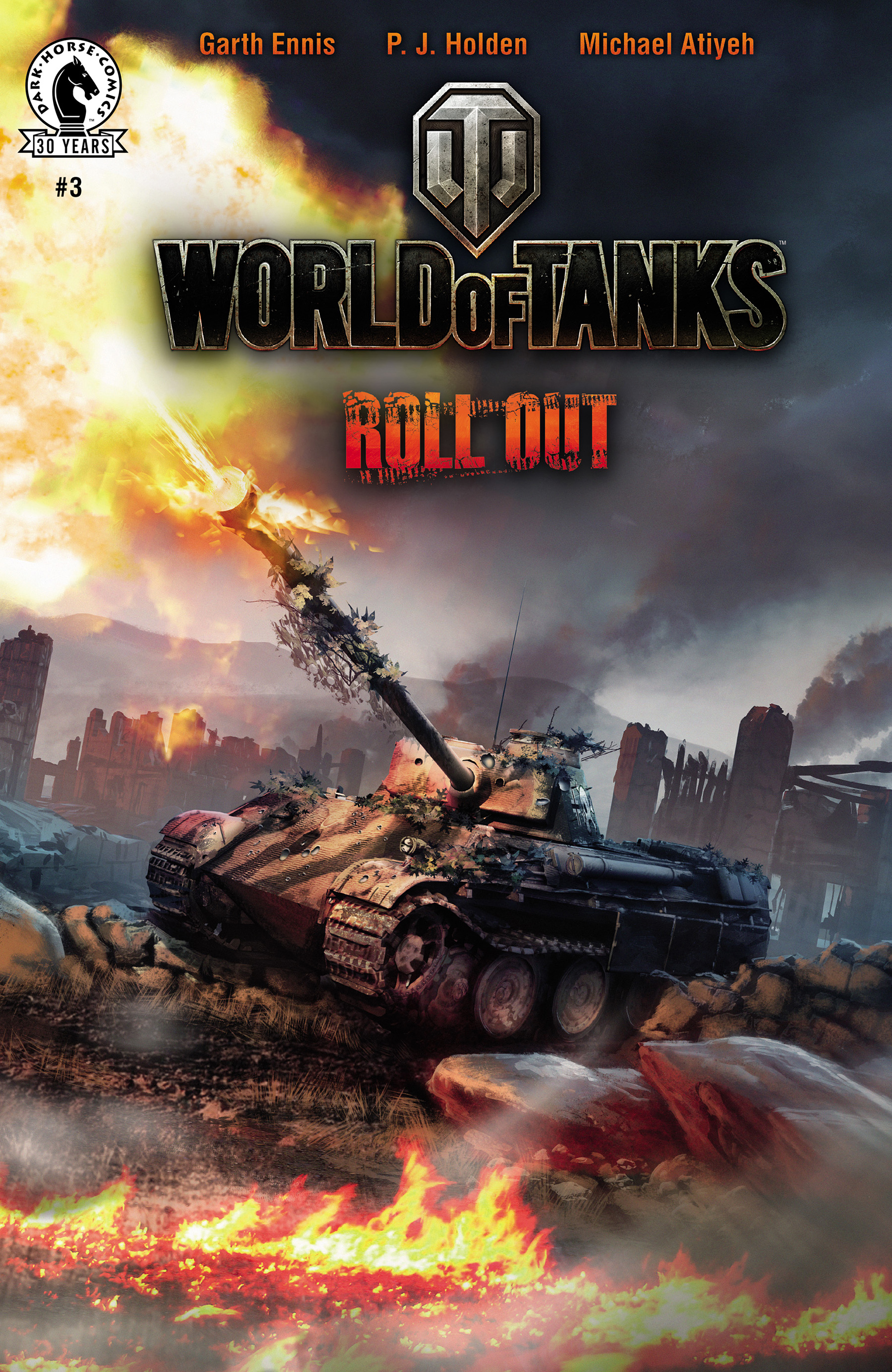 Read online World of Tanks comic -  Issue #3 - 1