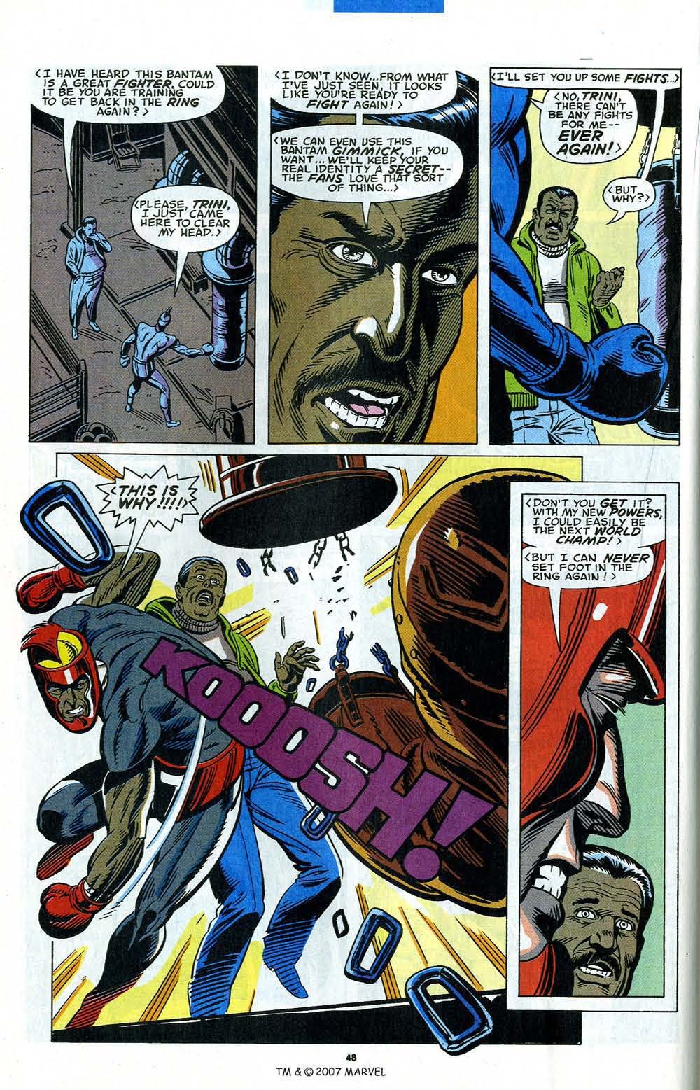Read online Captain America (1968) comic -  Issue # _Annual 12 - 50