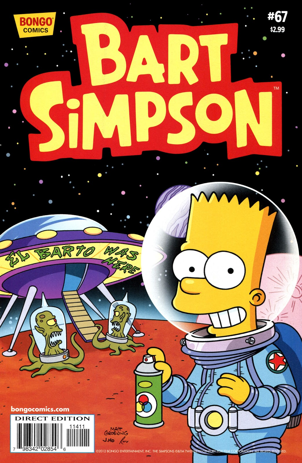 Simpsons Comics Presents Bart Simpson 67 Page 1