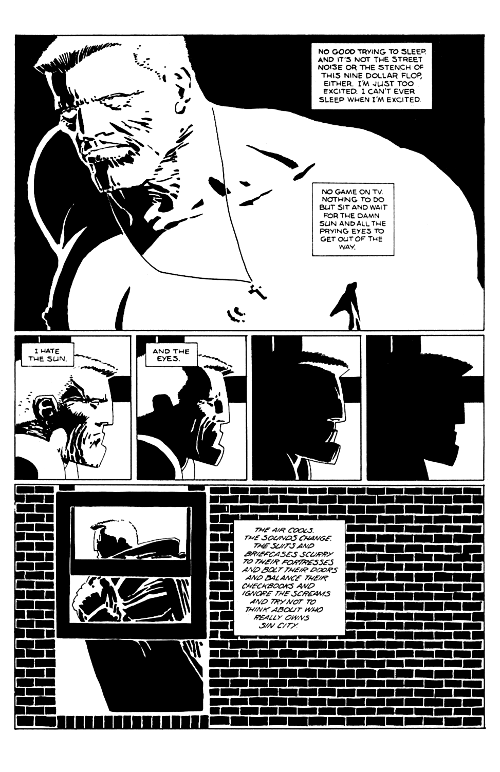 Read online Sin City comic -  Issue #6 - 3