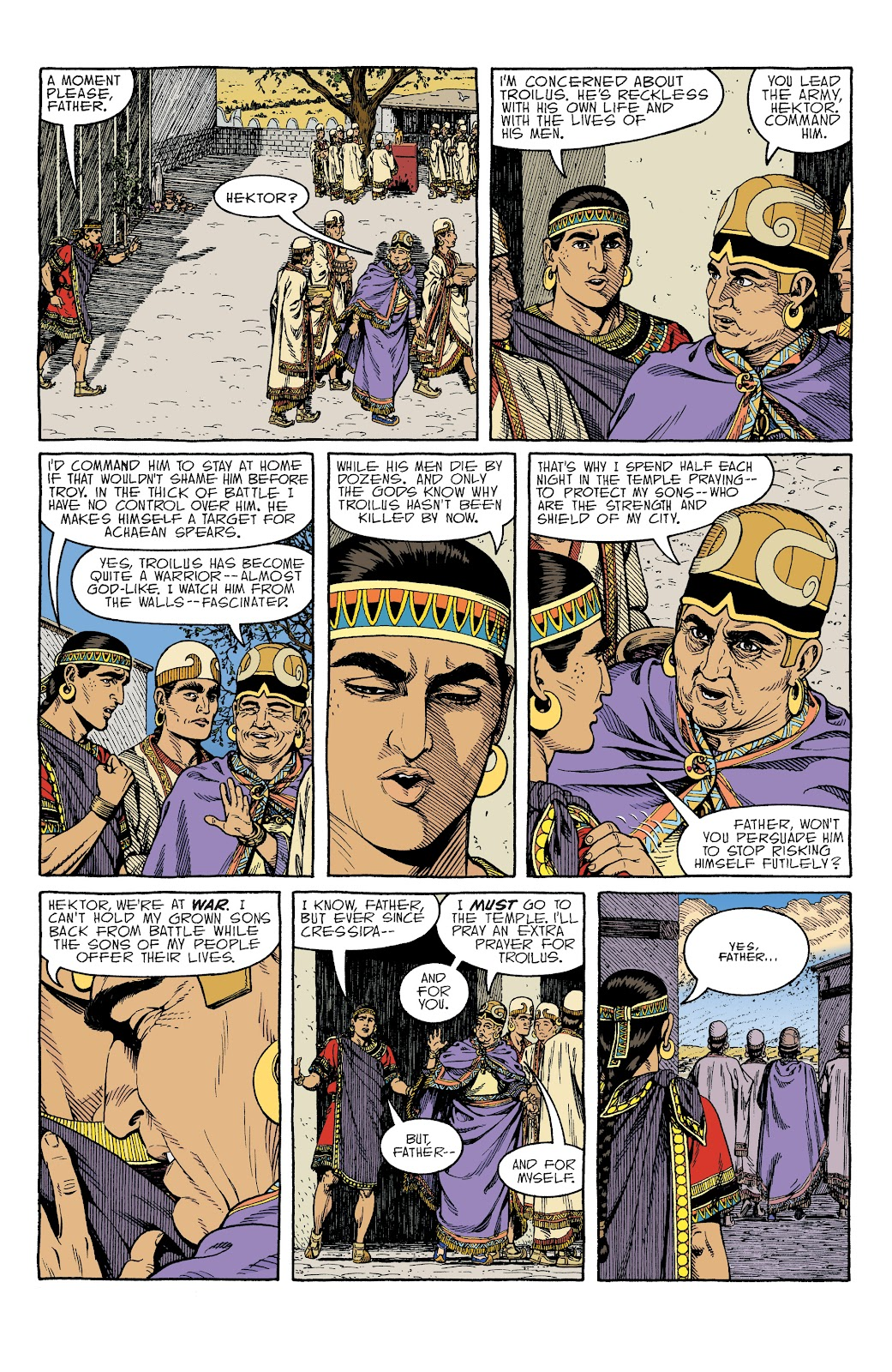 Read online Age of Bronze comic -  Issue #34 - 5