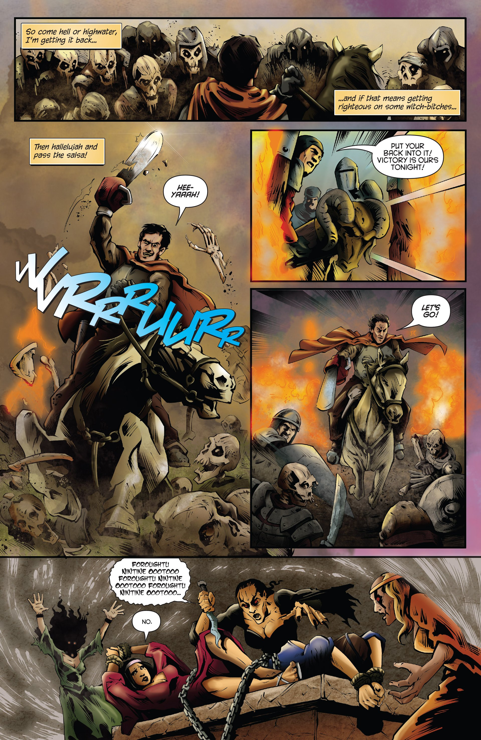 Read online Ash and the Army of Darkness comic -  Issue #Ash and the Army of Darkness _Annual 1 - 4