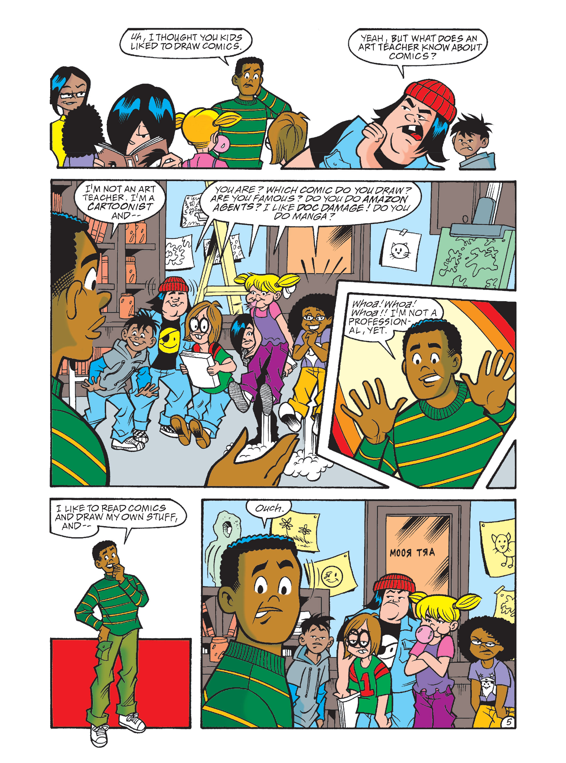 Read online Archie's Funhouse Double Digest comic -  Issue #8 - 40
