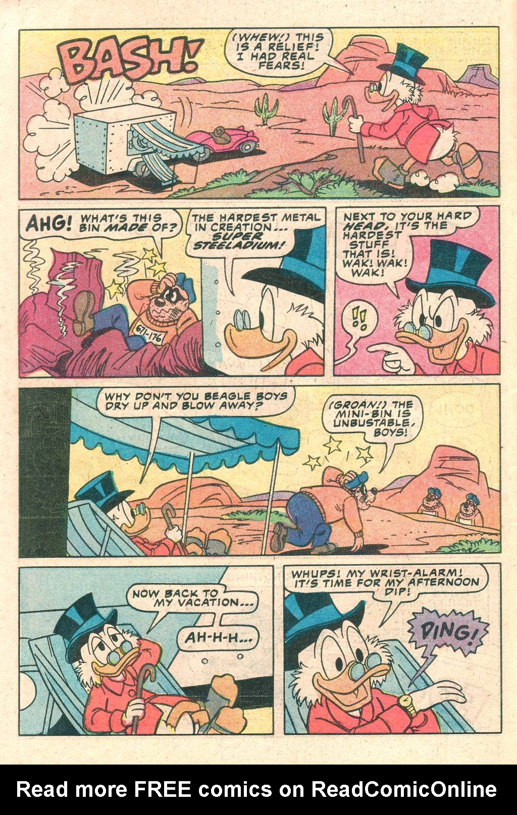 Read online Uncle Scrooge (1953) comic -  Issue #198 - 10