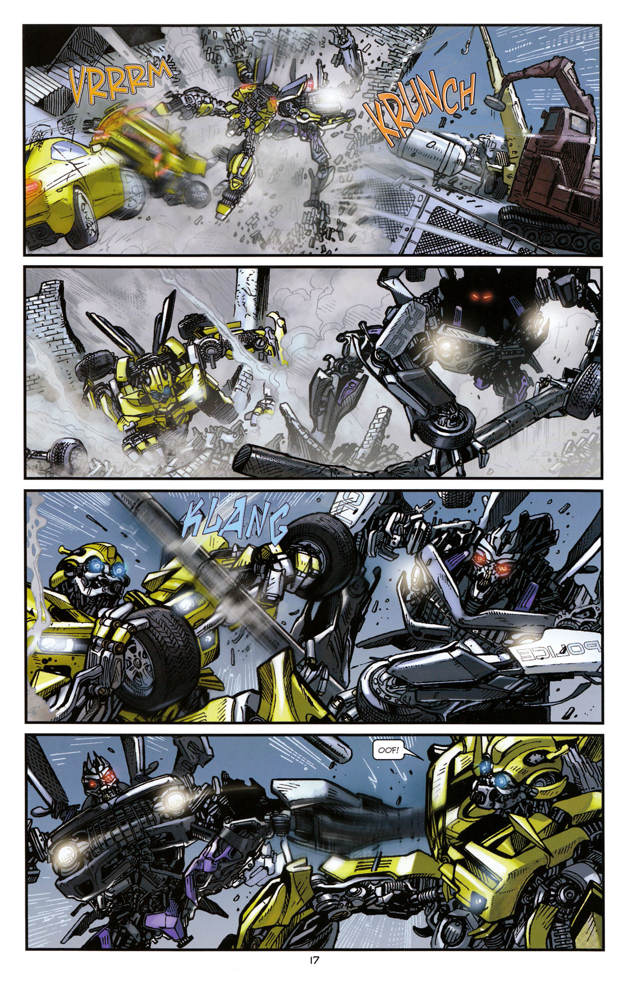 Read online Transformers: Tales of The Fallen comic -  Issue #1 - 19