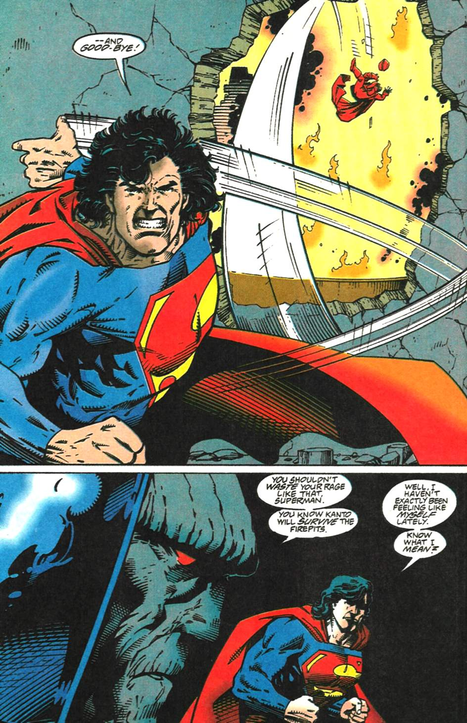 Read online Adventures of Superman (1987) comic -  Issue #518 - 16