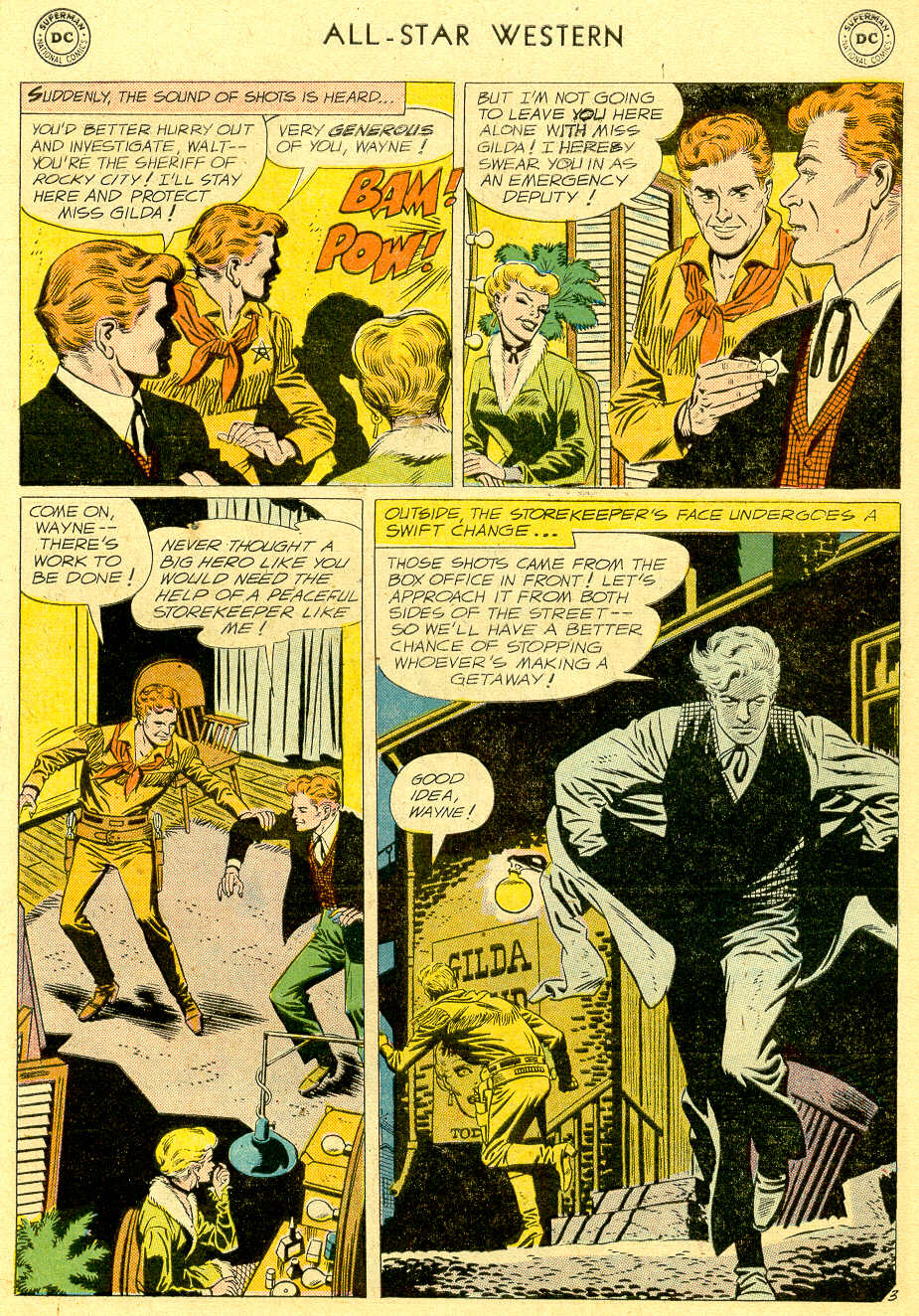 Read online All-Star Western (1951) comic -  Issue #103 - 5