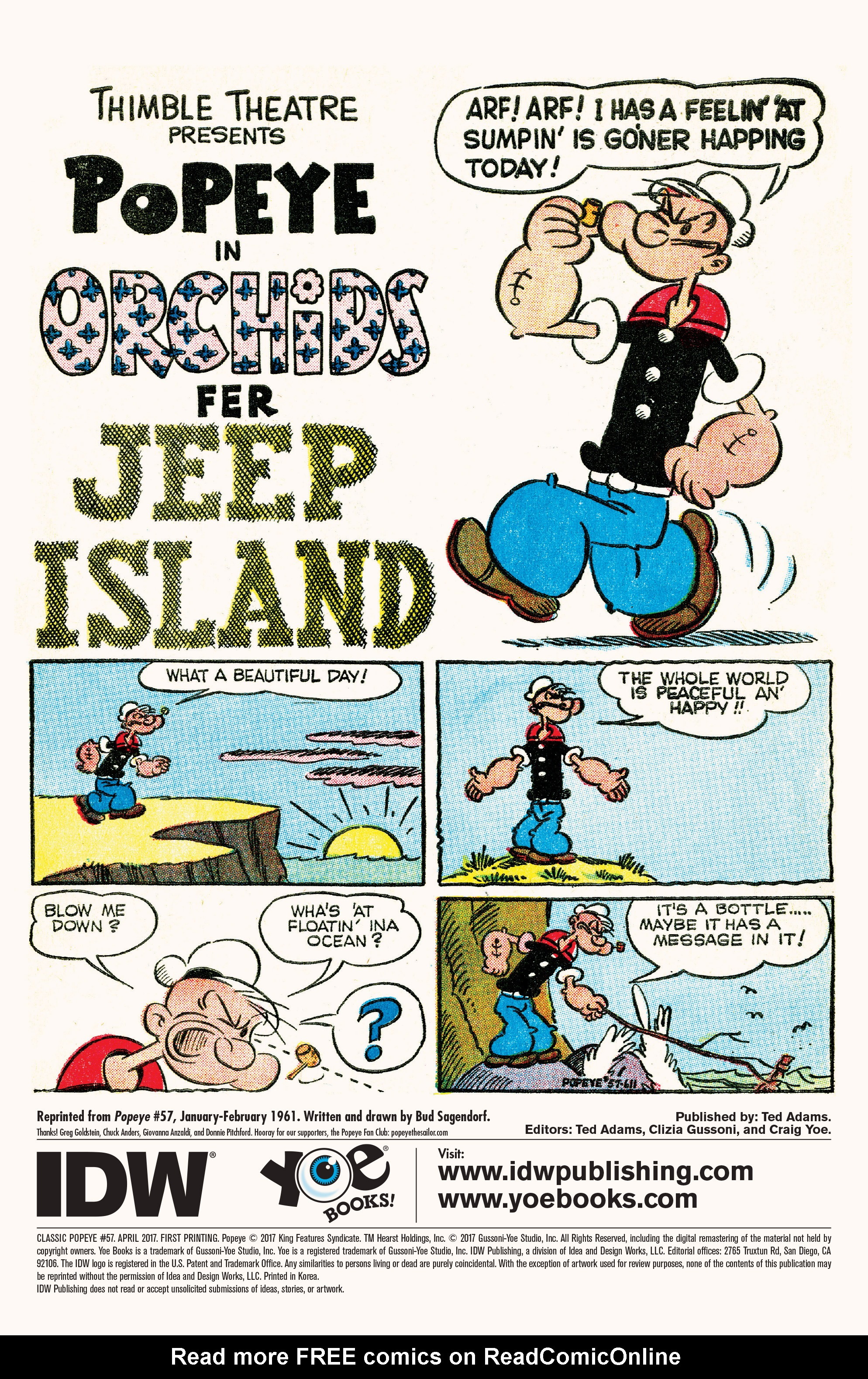 Read online Classic Popeye comic -  Issue #57 - 3
