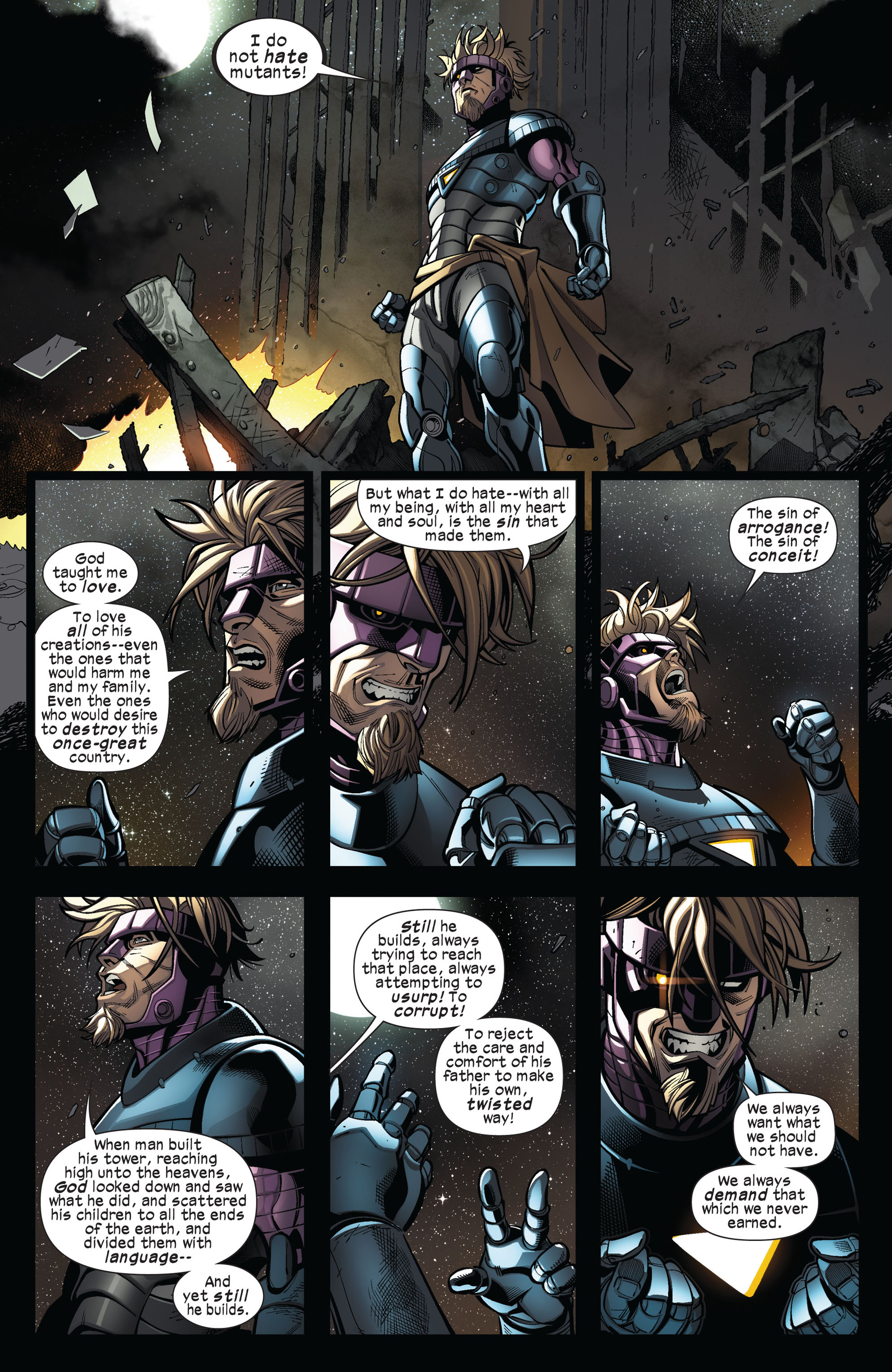 Read online Ultimate Comics X-Men comic -  Issue #4 - 13