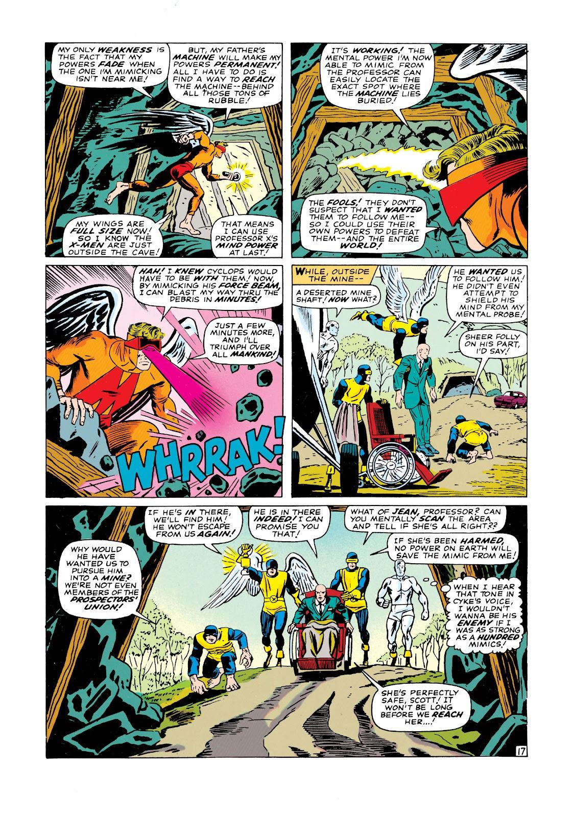 Uncanny X-Men (1963) issue 19 - Page 18