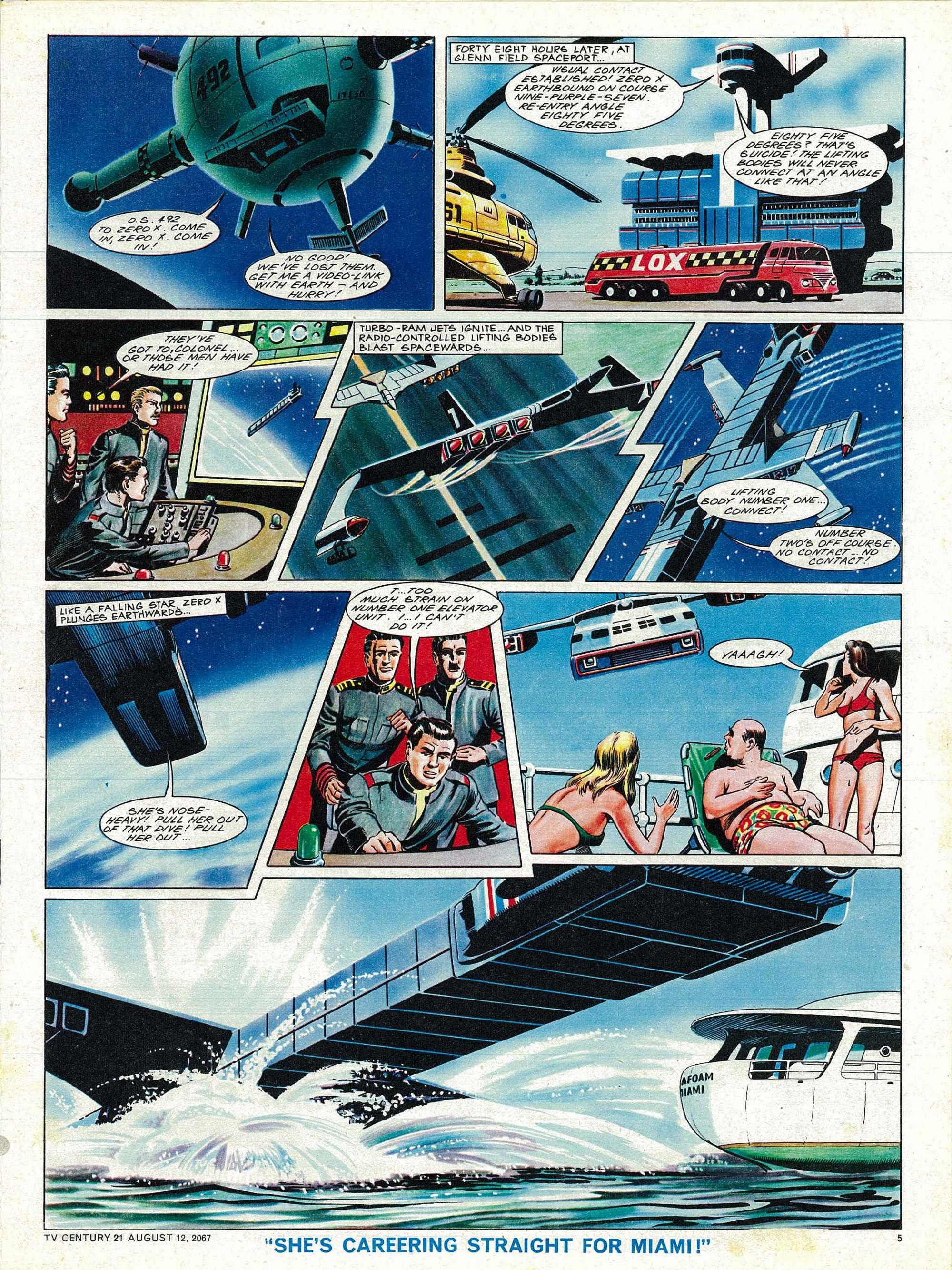 Read online TV Century 21 (TV 21) comic -  Issue #134 - 5