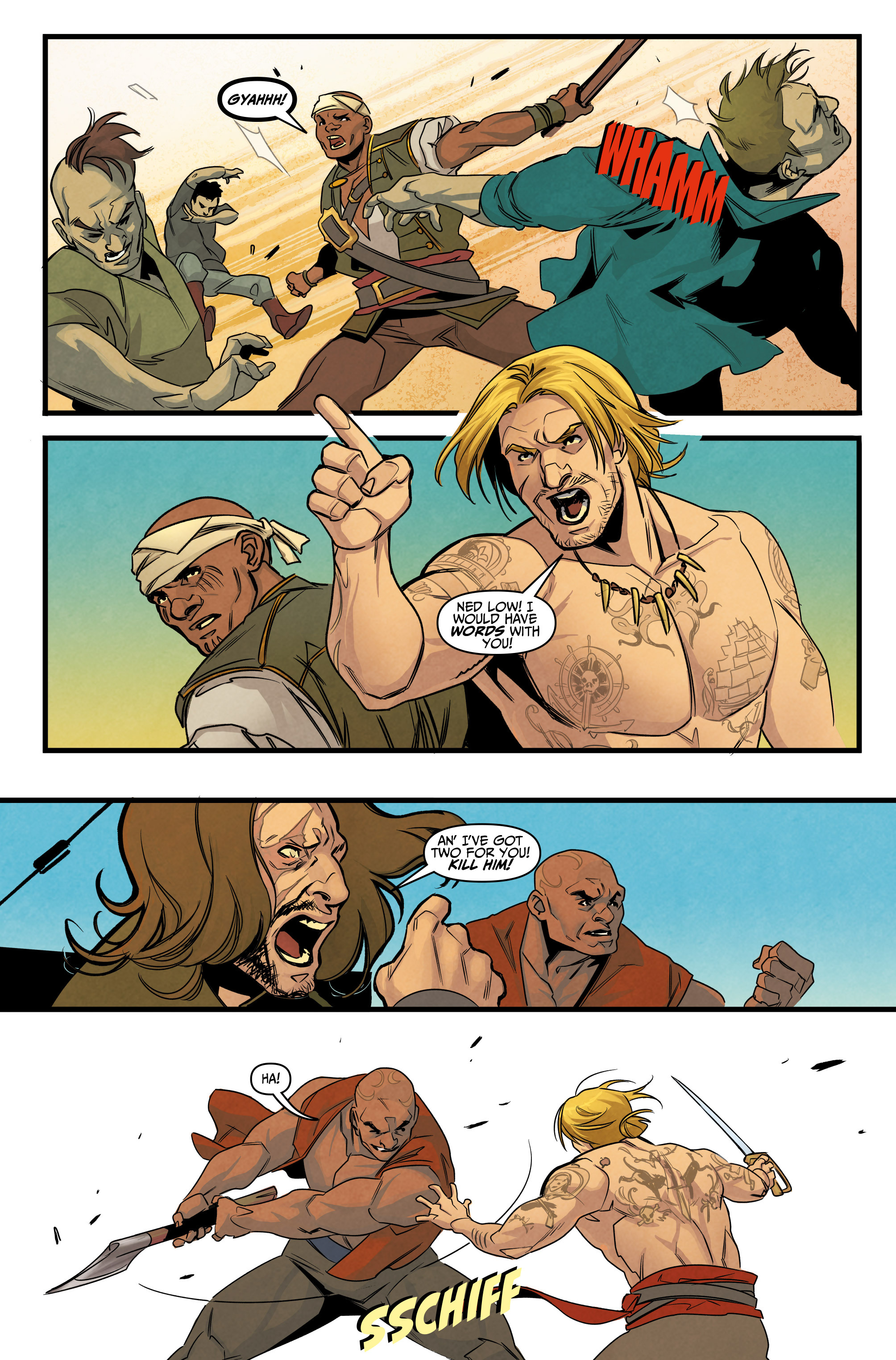 Read online Assassin's Creed: Reflections comic -  Issue #3 - 17