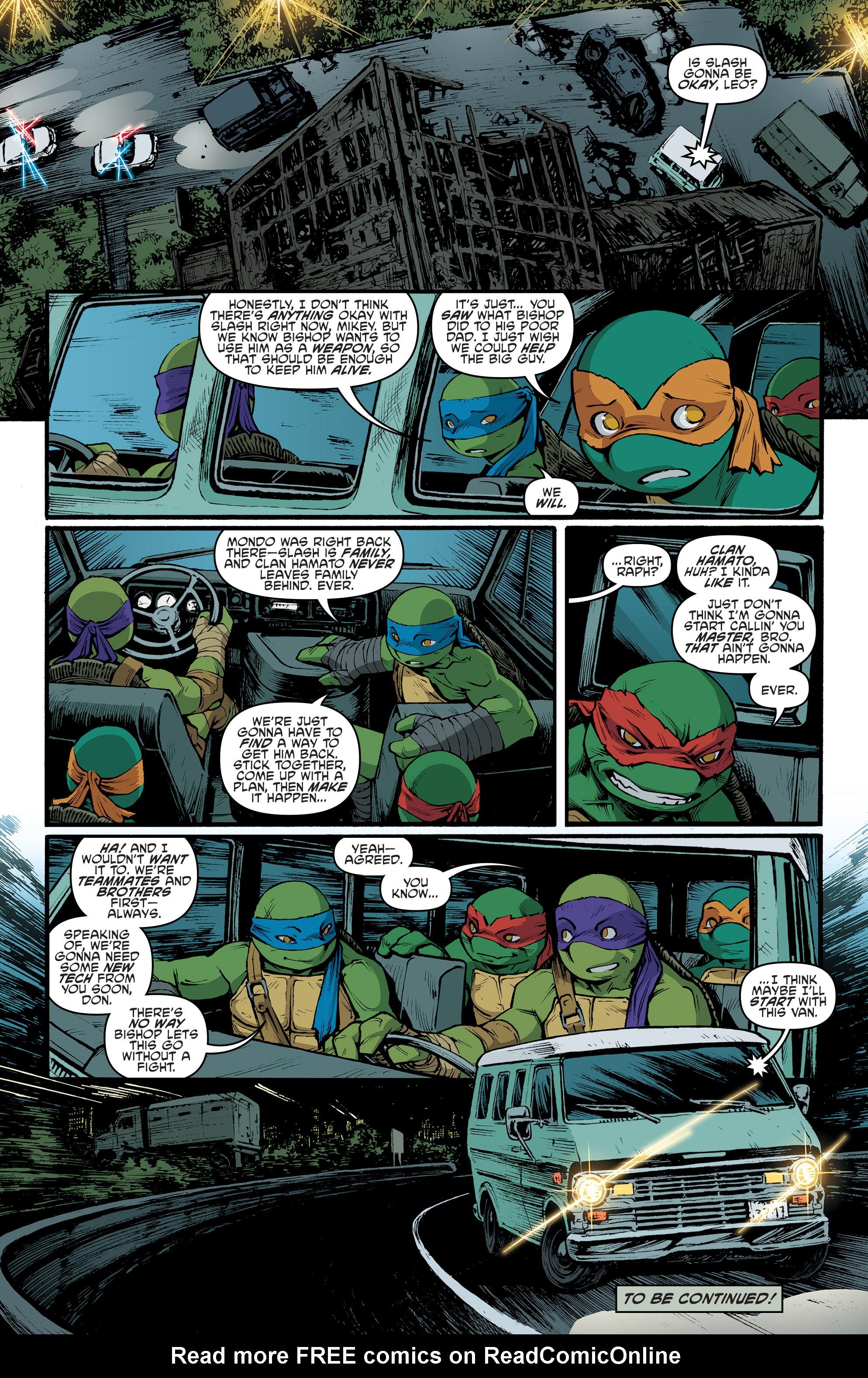 Read online Teenage Mutant Ninja Turtles (2011) comic -  Issue #70 - 22