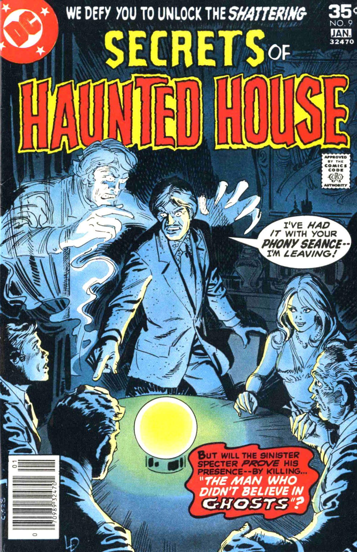 Read online Secrets of Haunted House comic -  Issue #9 - 1
