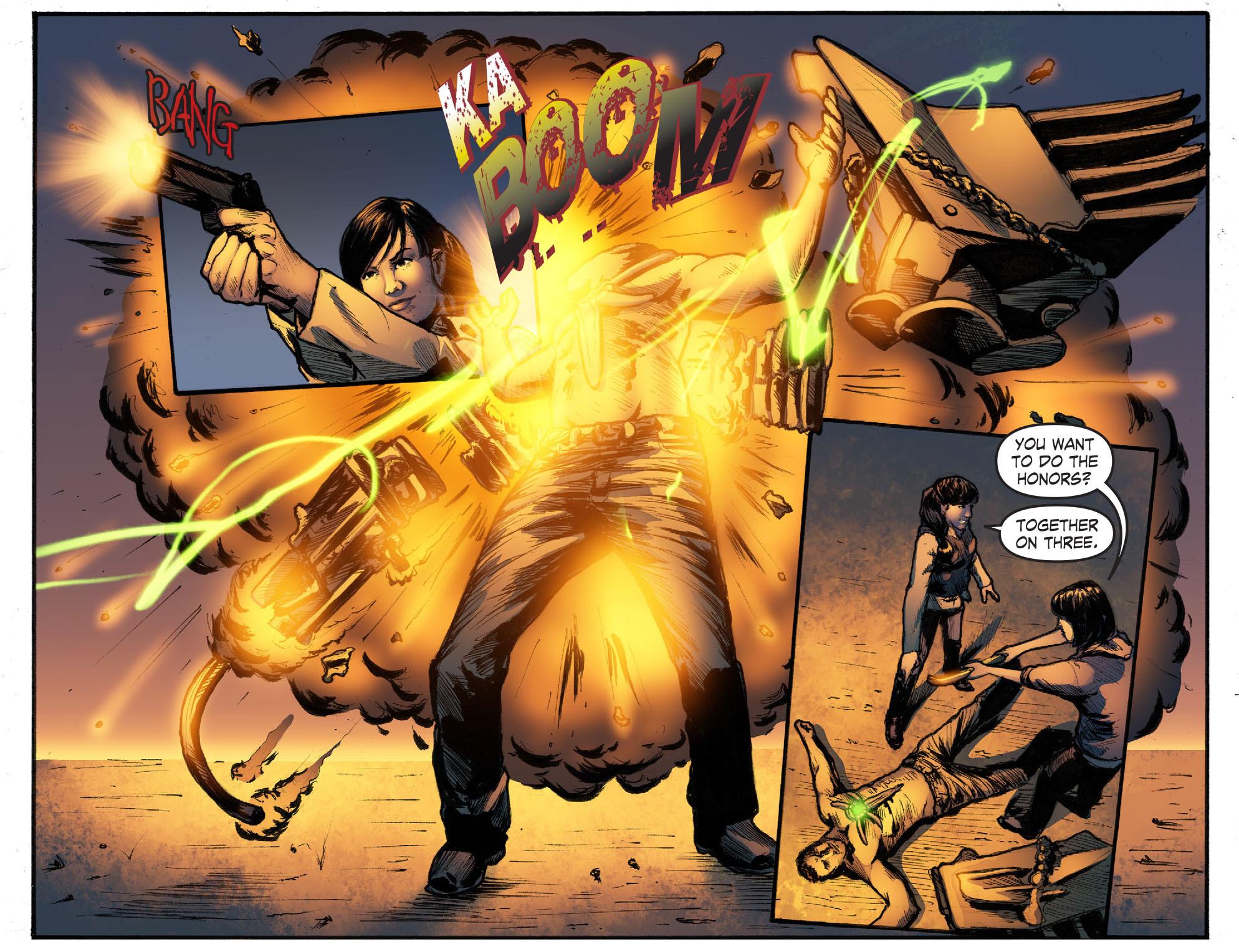 Read online Smallville: Season 11 comic -  Issue #50 - 17