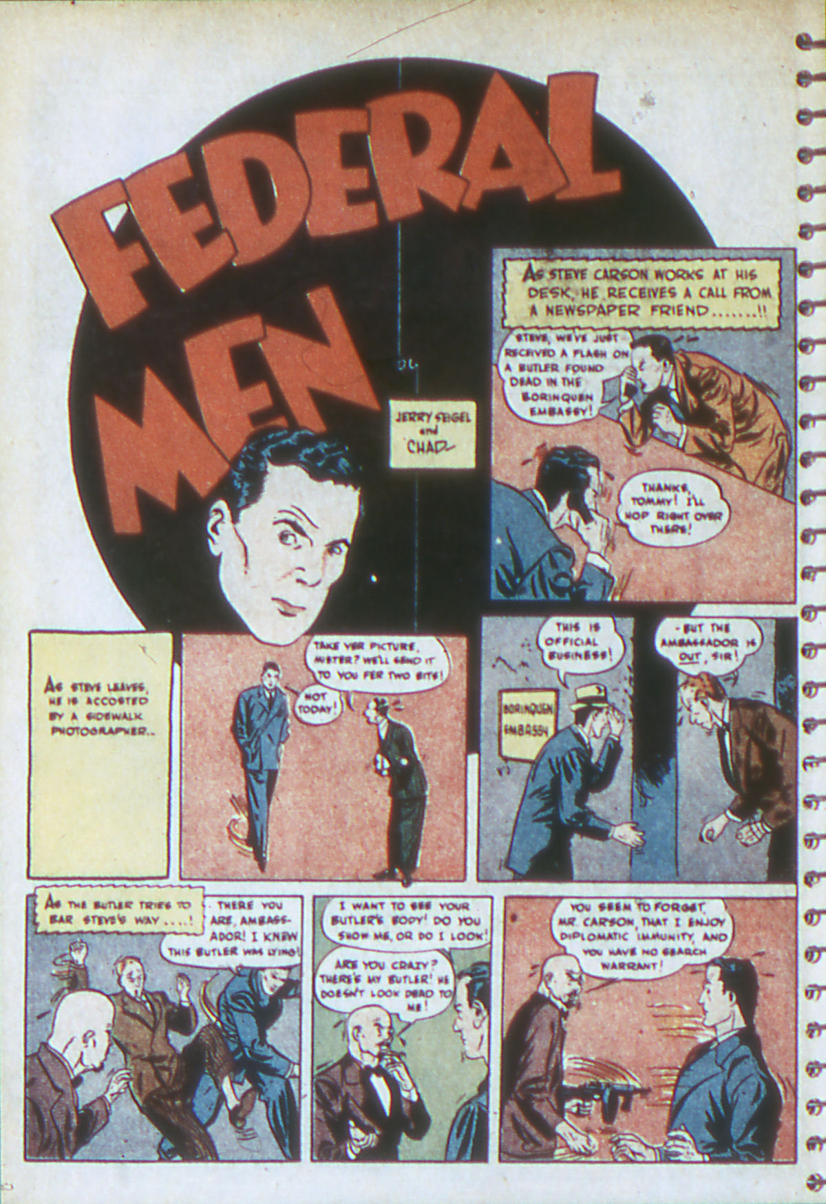 Read online Adventure Comics (1938) comic -  Issue #54 - 27