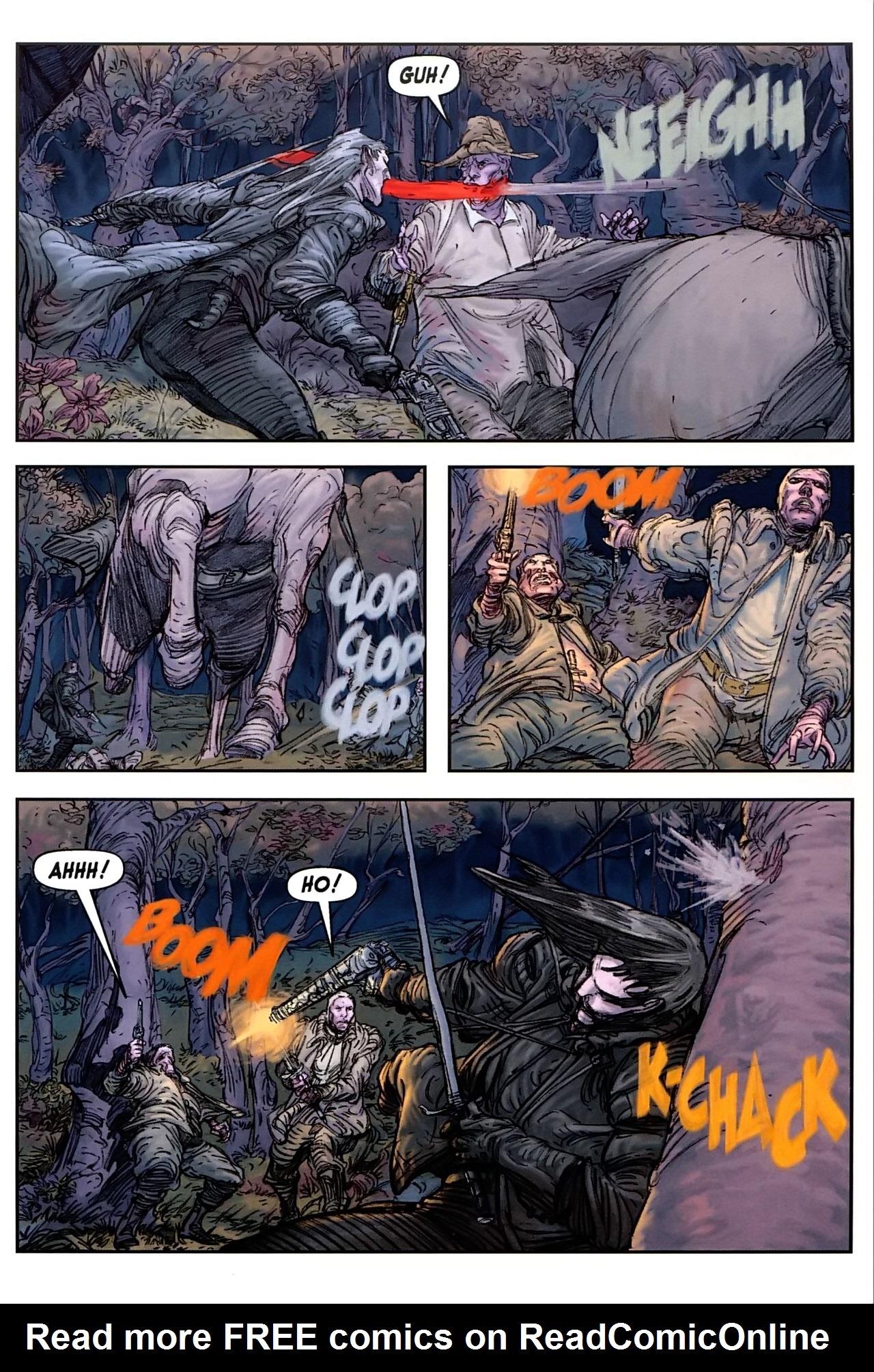 Read online Solomon Kane comic -  Issue #1 - 6