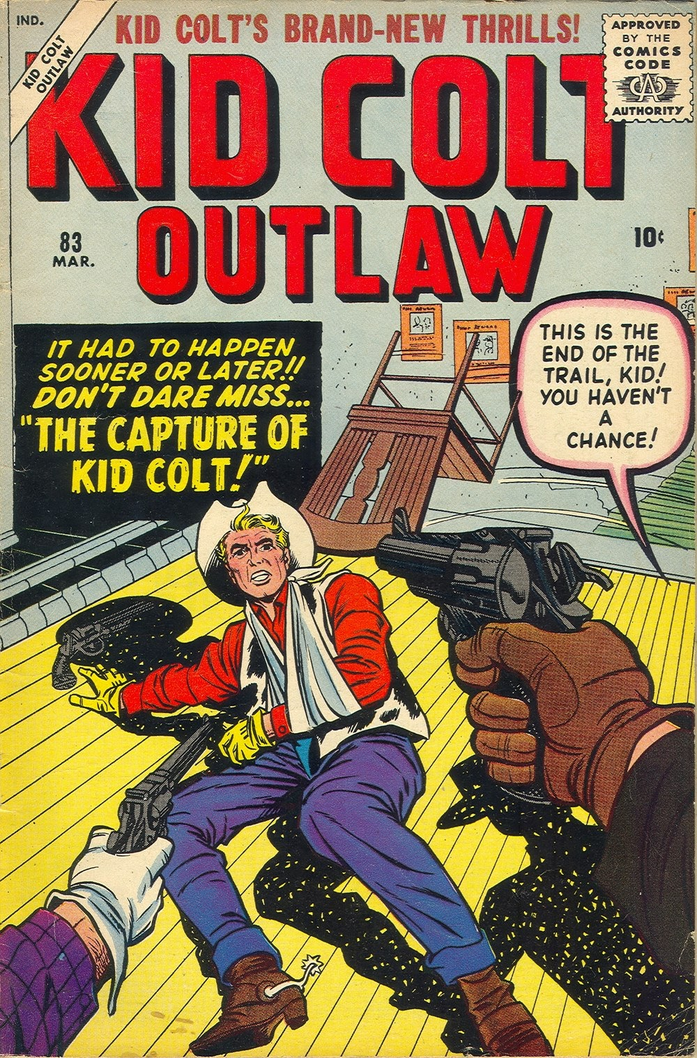 Kid Colt Outlaw issue 83 - Page 1