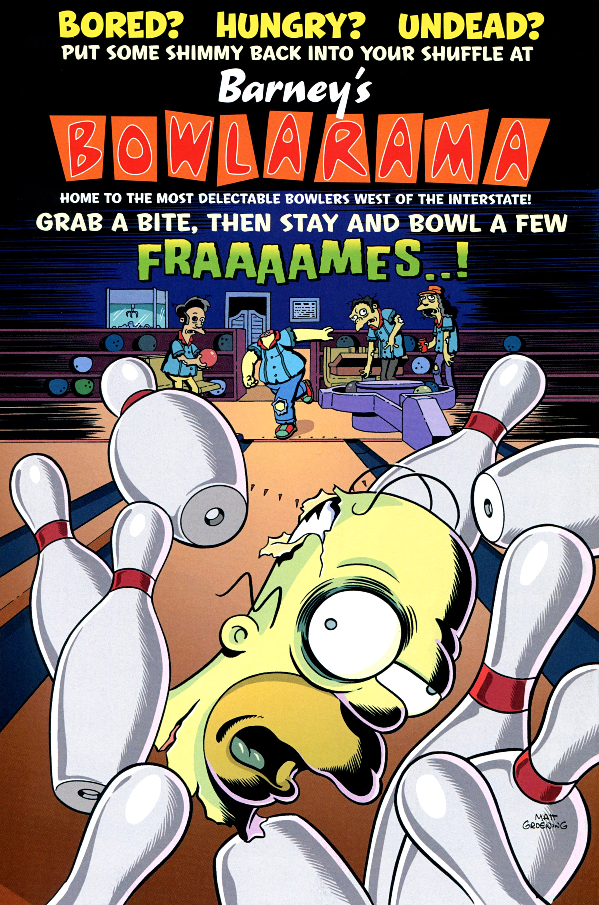 Read online Treehouse of Horror comic -  Issue #20 - 48