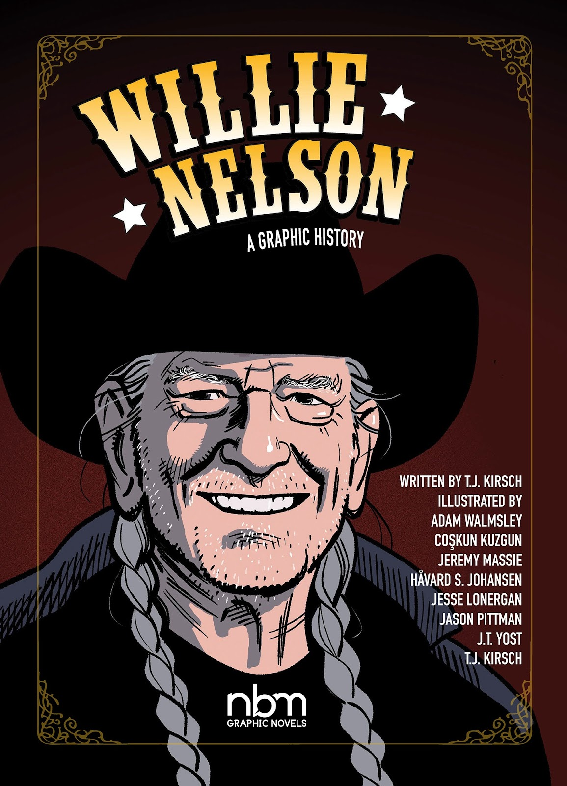 Willie Nelson: A Graphic History TPB Page 1