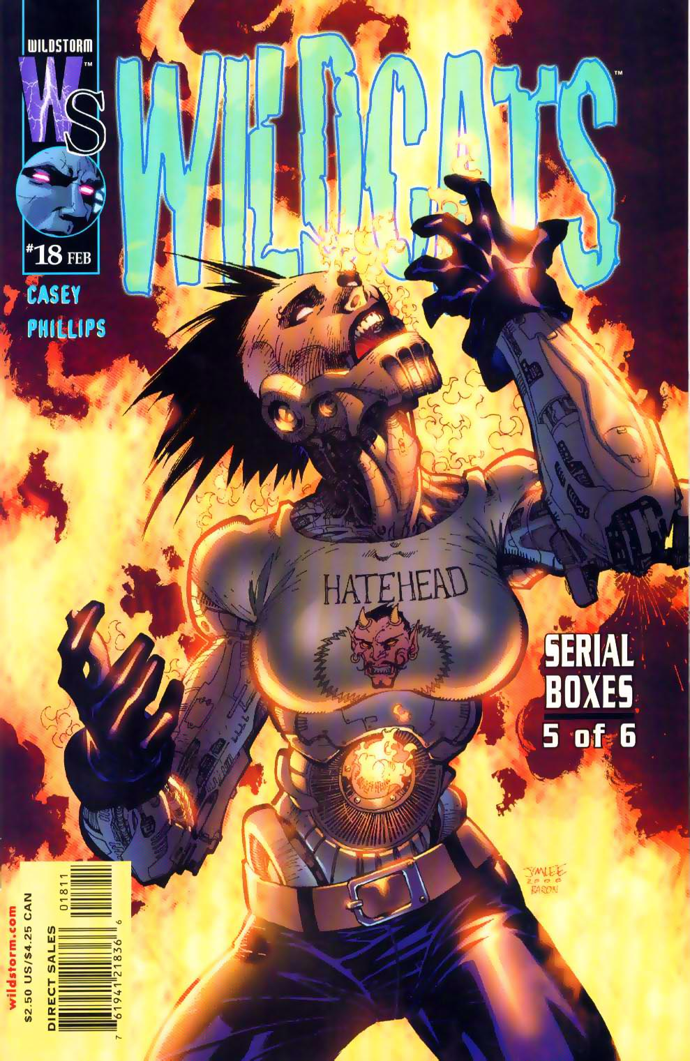 Wildcats (1999) Issue #18 #19 - English 1