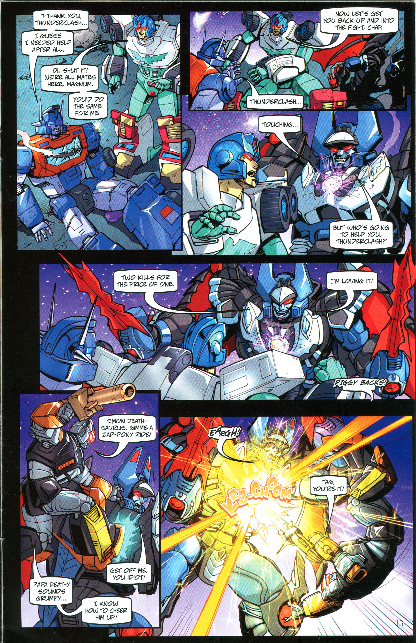 Read online Transformers: Collectors' Club comic -  Issue #40 - 13