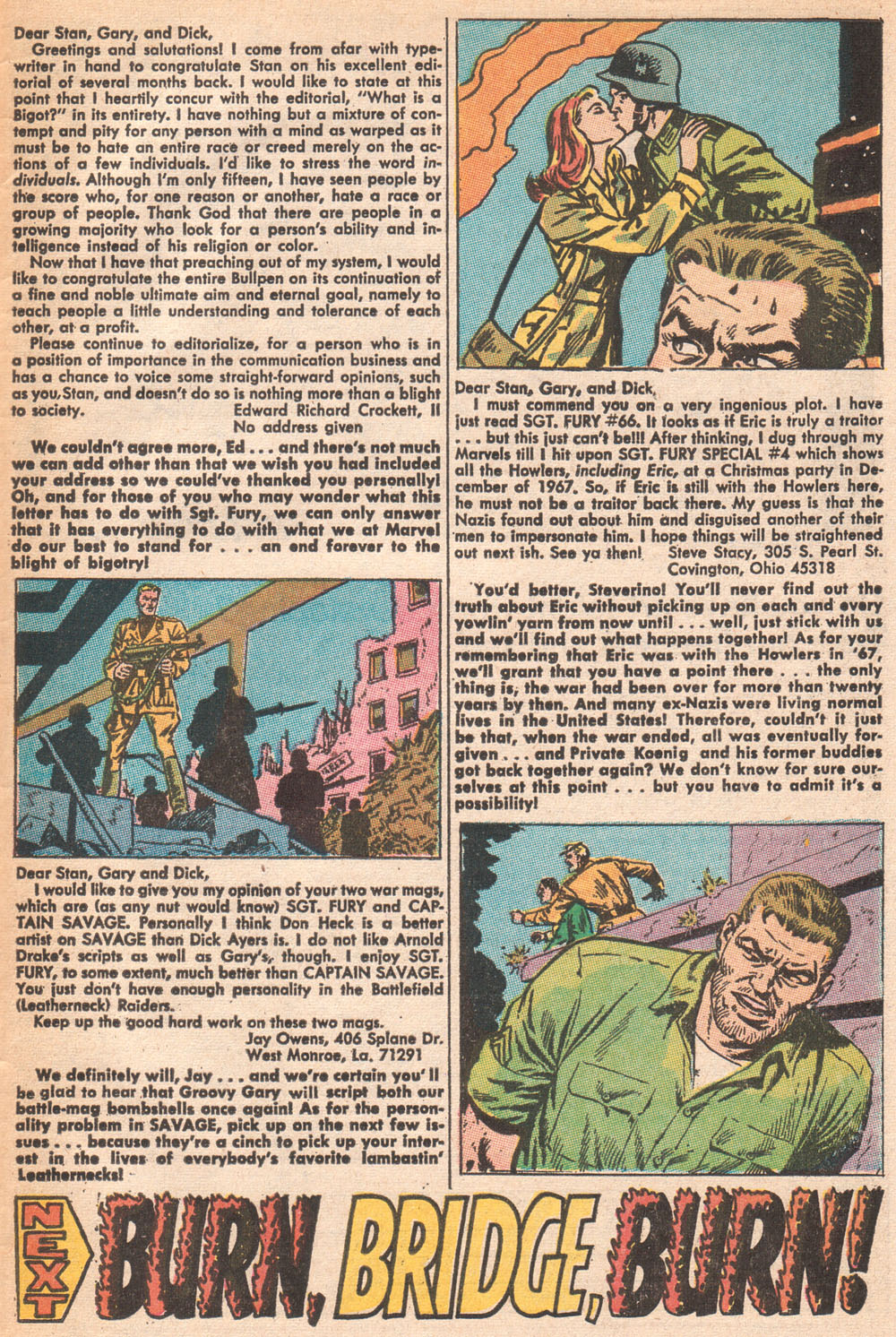 Read online Sgt. Fury comic -  Issue #70 - 33