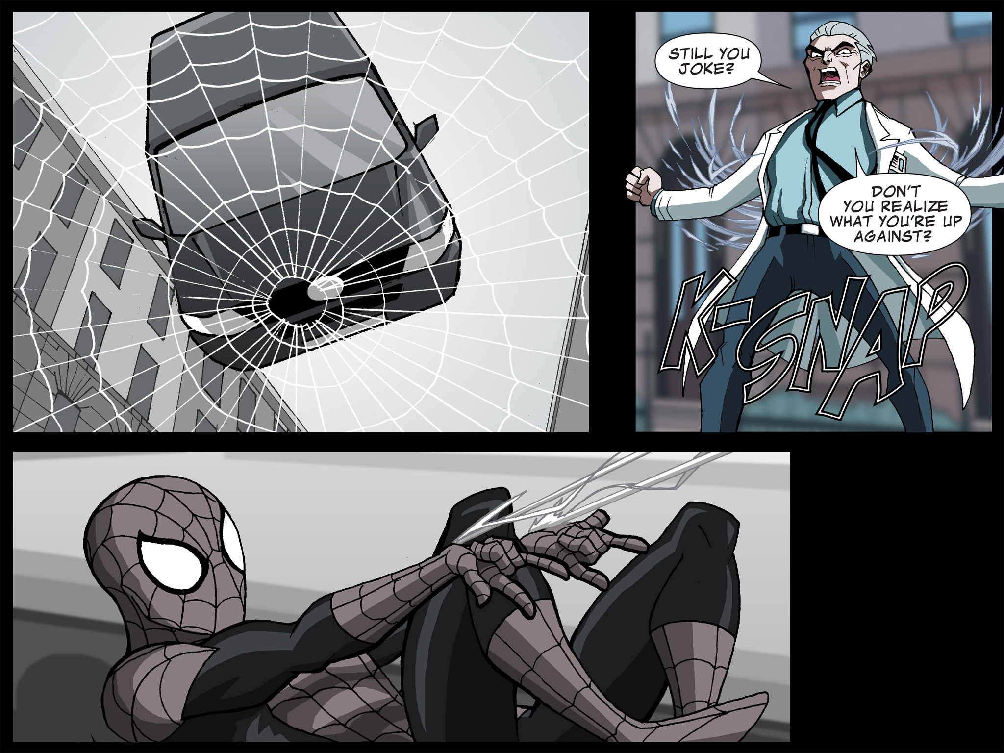 Read online Ultimate Spider-Man (Infinite Comics) (2015) comic -  Issue #5 - 22