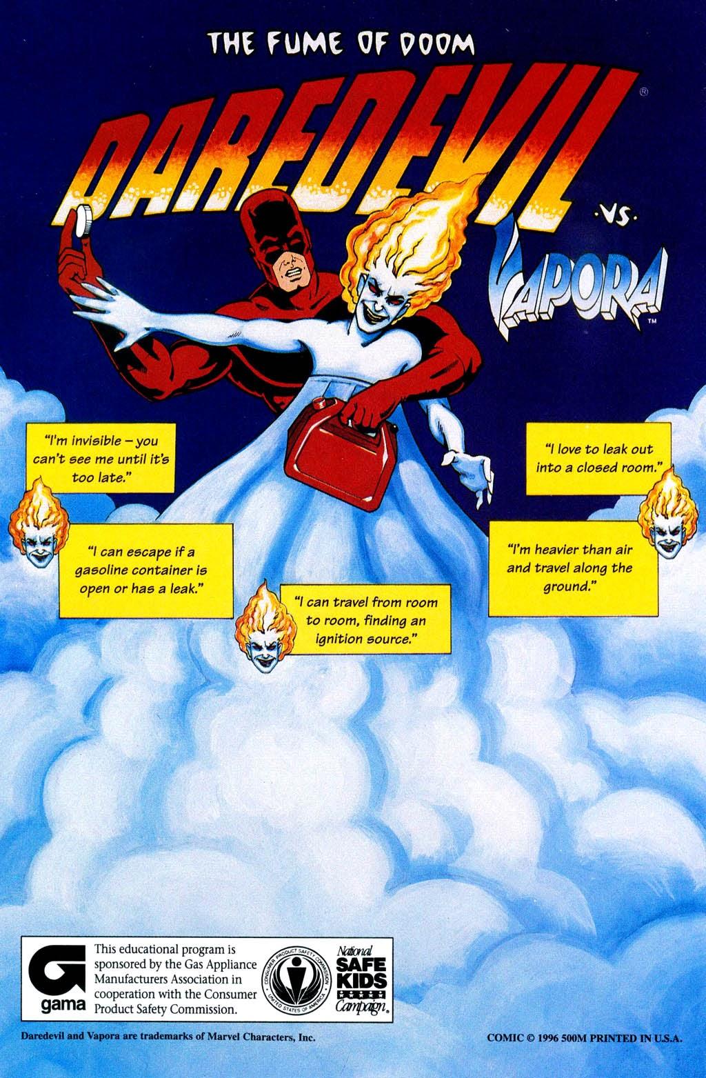 Read online Daredevil vs. Vapora comic -  Issue # Full - 20