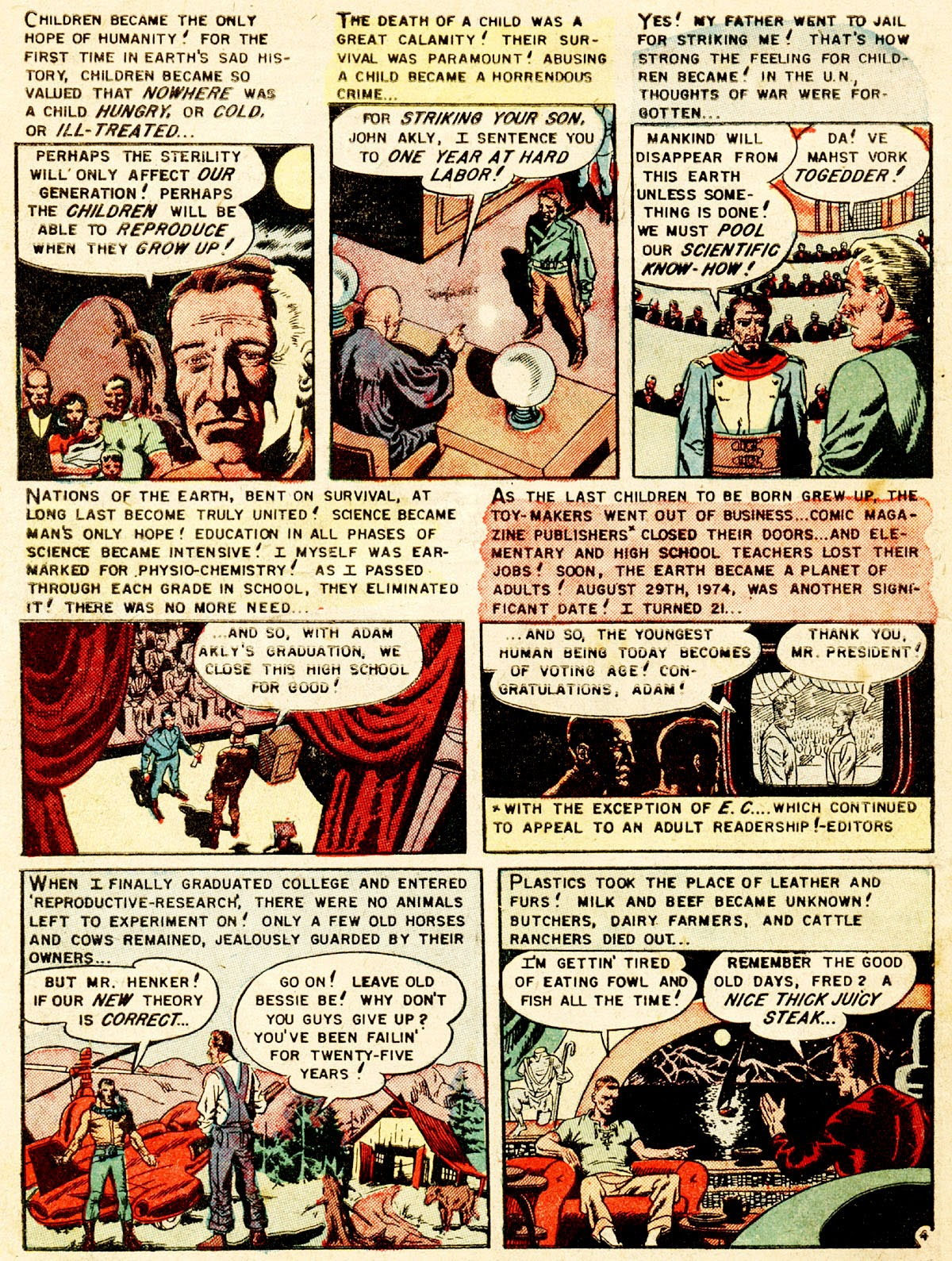 Weird Fantasy (1951) issue 13 - Page 6
