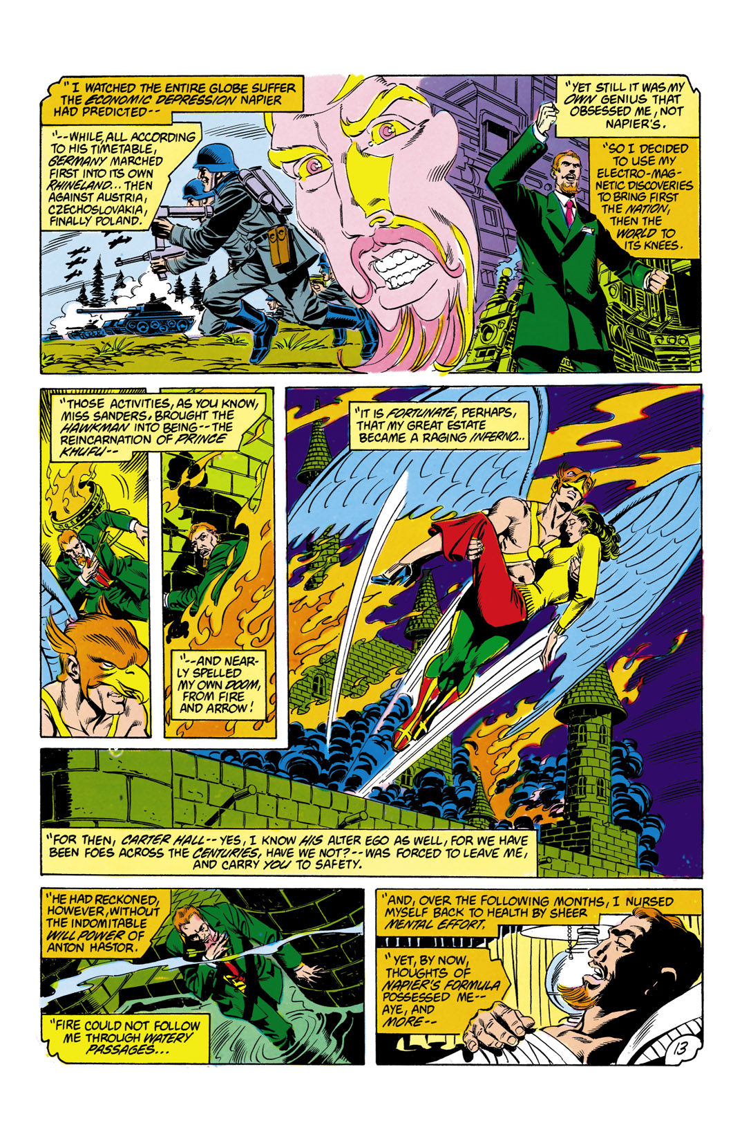 Read online All-Star Squadron comic -  Issue #12 - 14