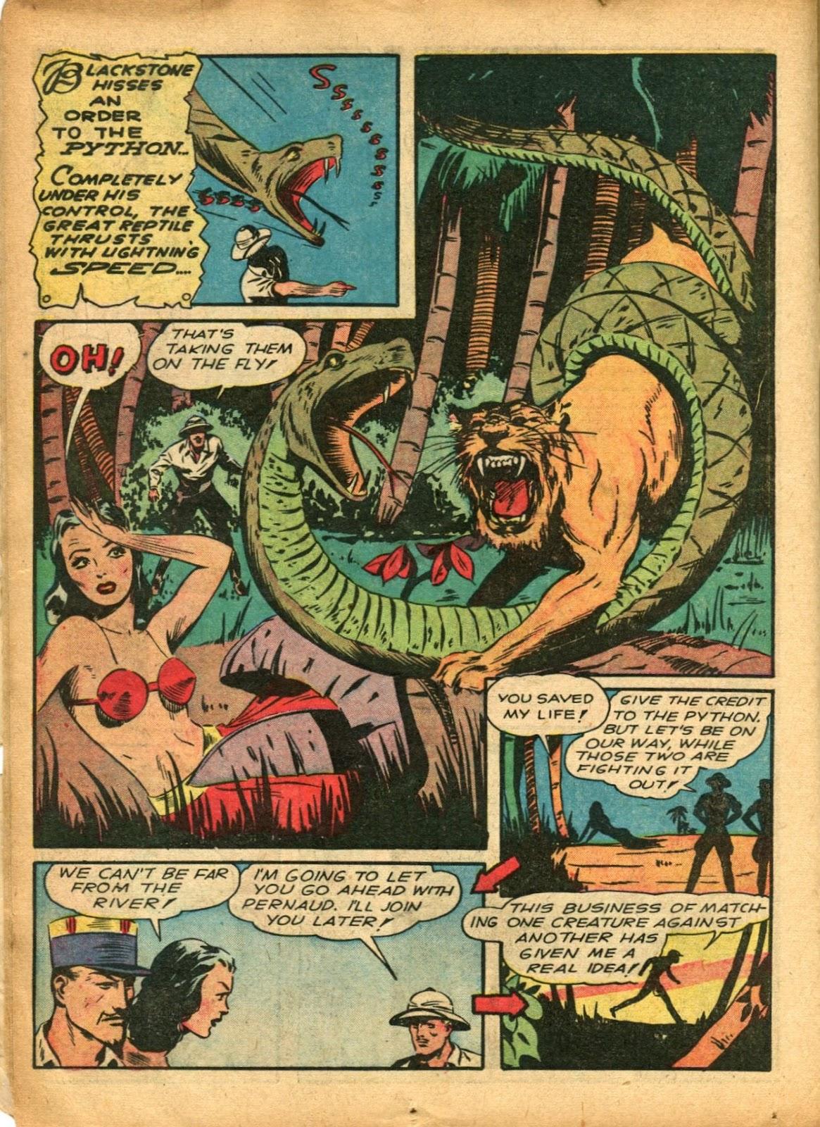 Read online Super-Magician Comics comic -  Issue #5 - 26